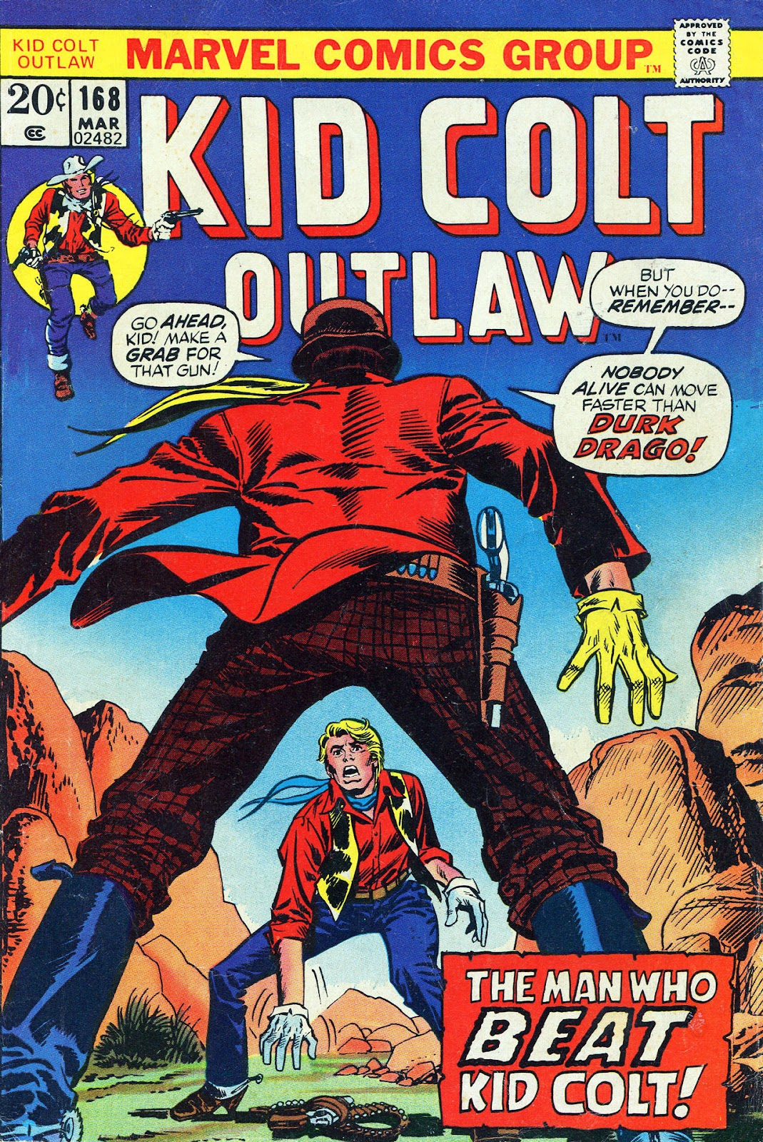 Kid Colt Outlaw issue 168 - Page 1