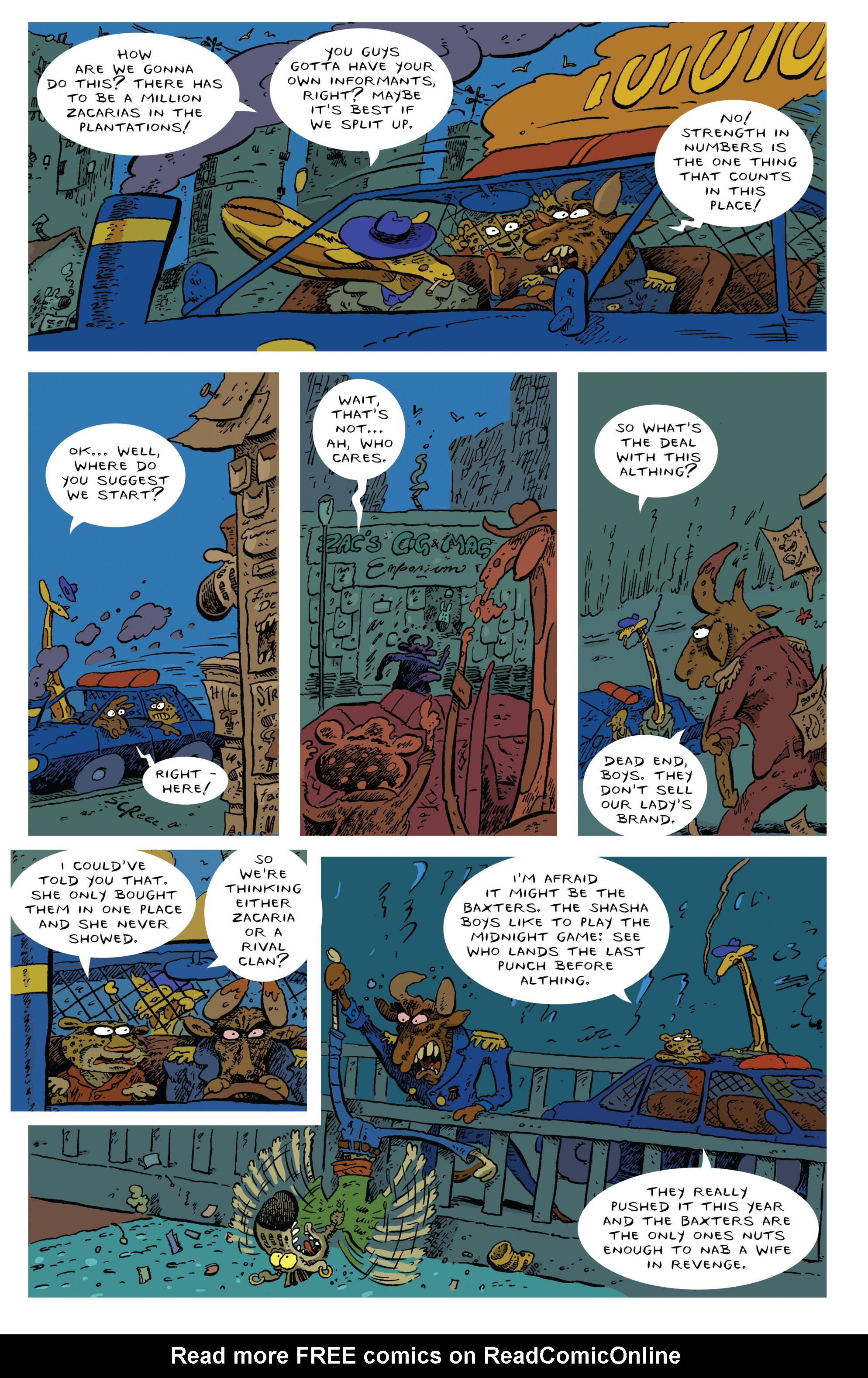 Read online Animal Noir comic -  Issue #4 - 10