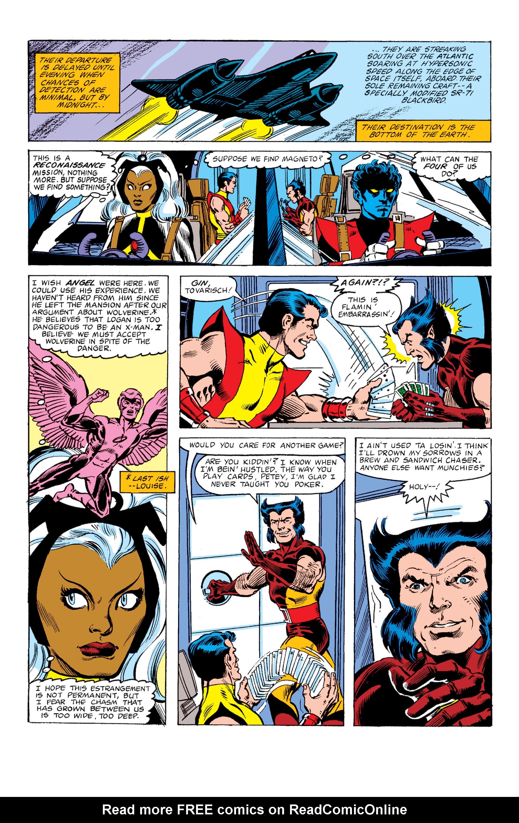Read online Uncanny X-Men (1963) comic -  Issue #149 - 7