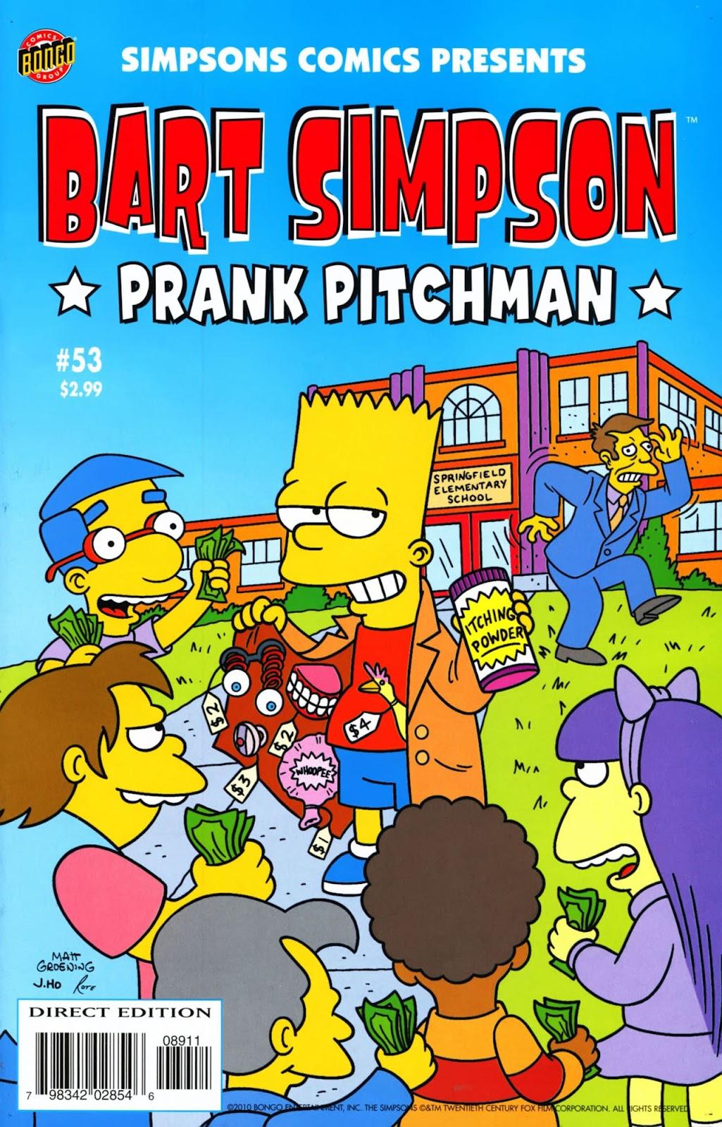 Simpsons Comics Presents Bart Simpson 53 Page 1