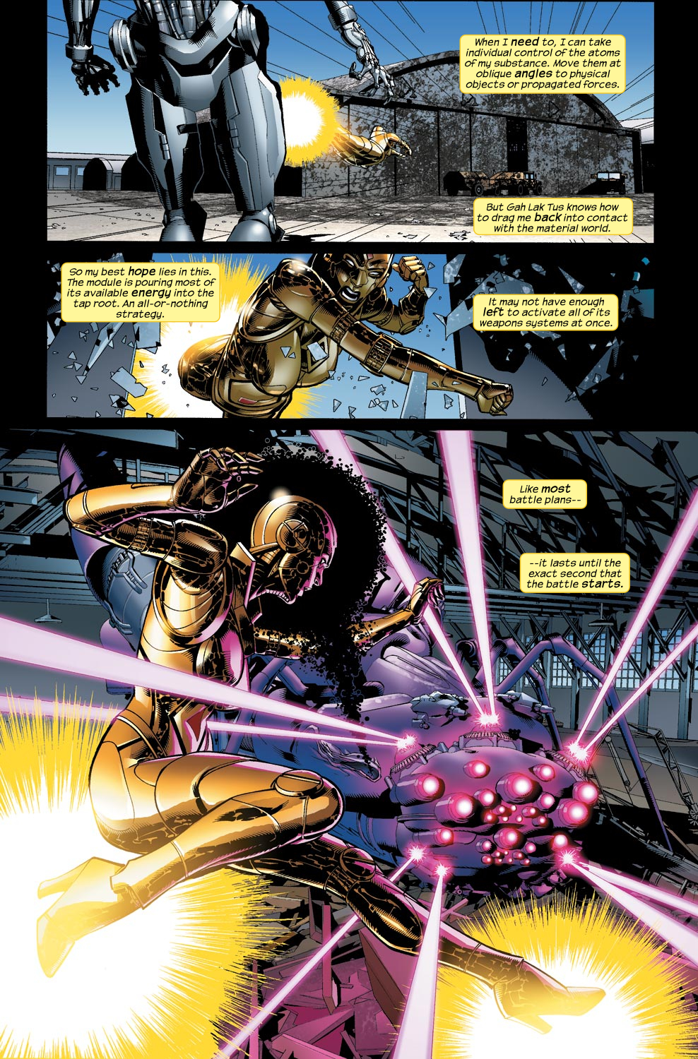 Read online Ultimate Vision comic -  Issue #5 - 14