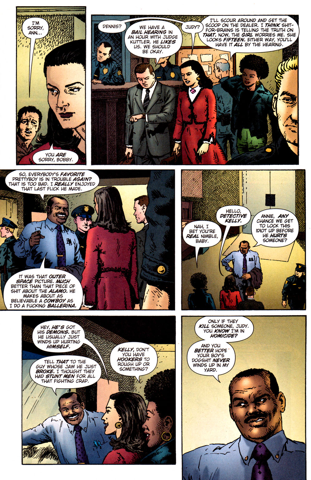 Read online Caper comic -  Issue #5 - 11