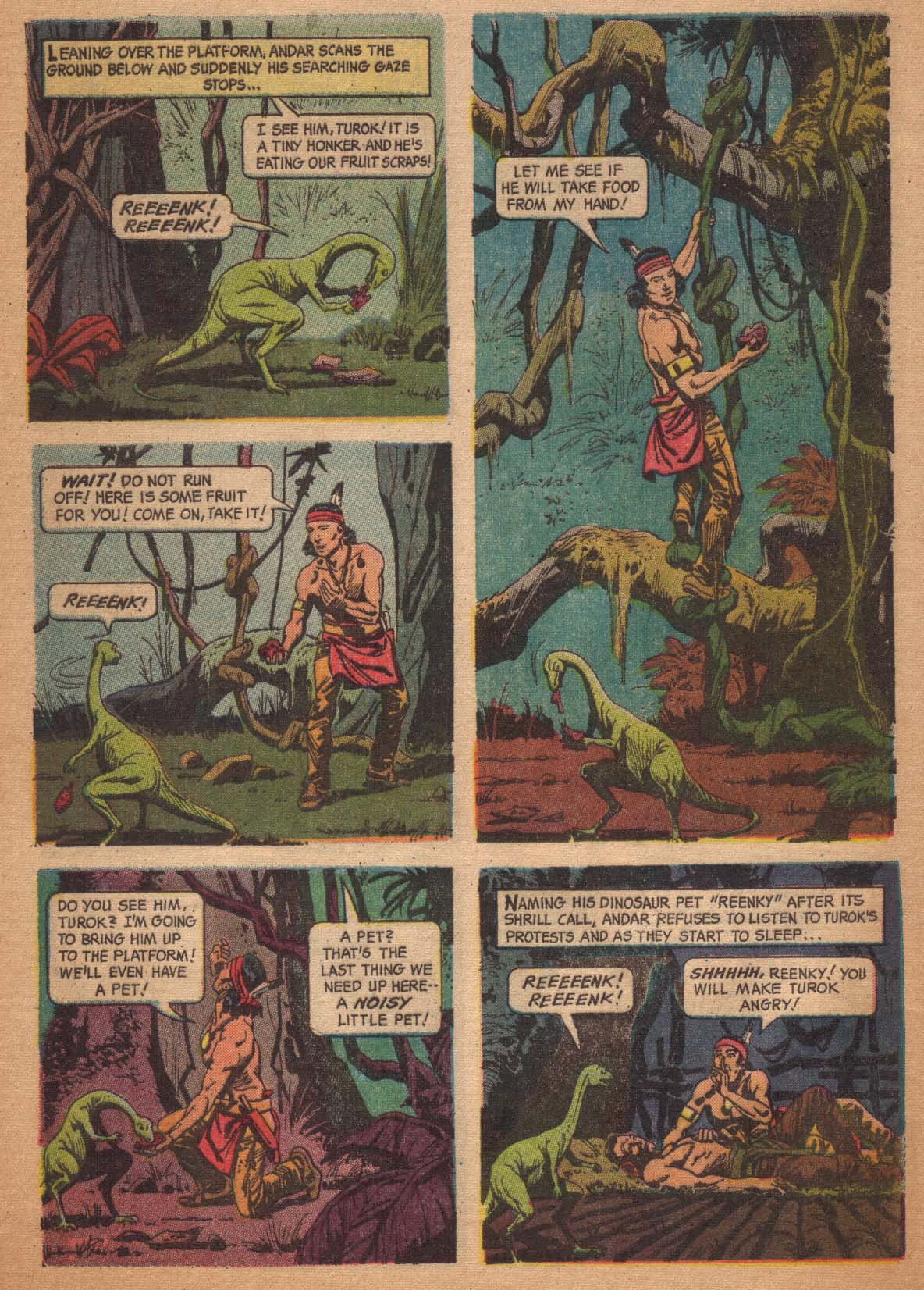 Read online Turok, Son of Stone comic -  Issue #47 - 8
