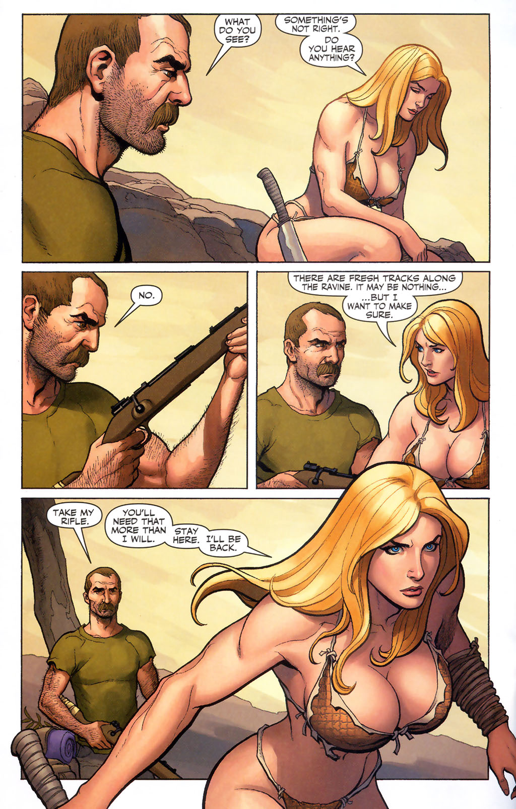 Read online Shanna, the She-Devil (2005) comic -  Issue #5 - 15