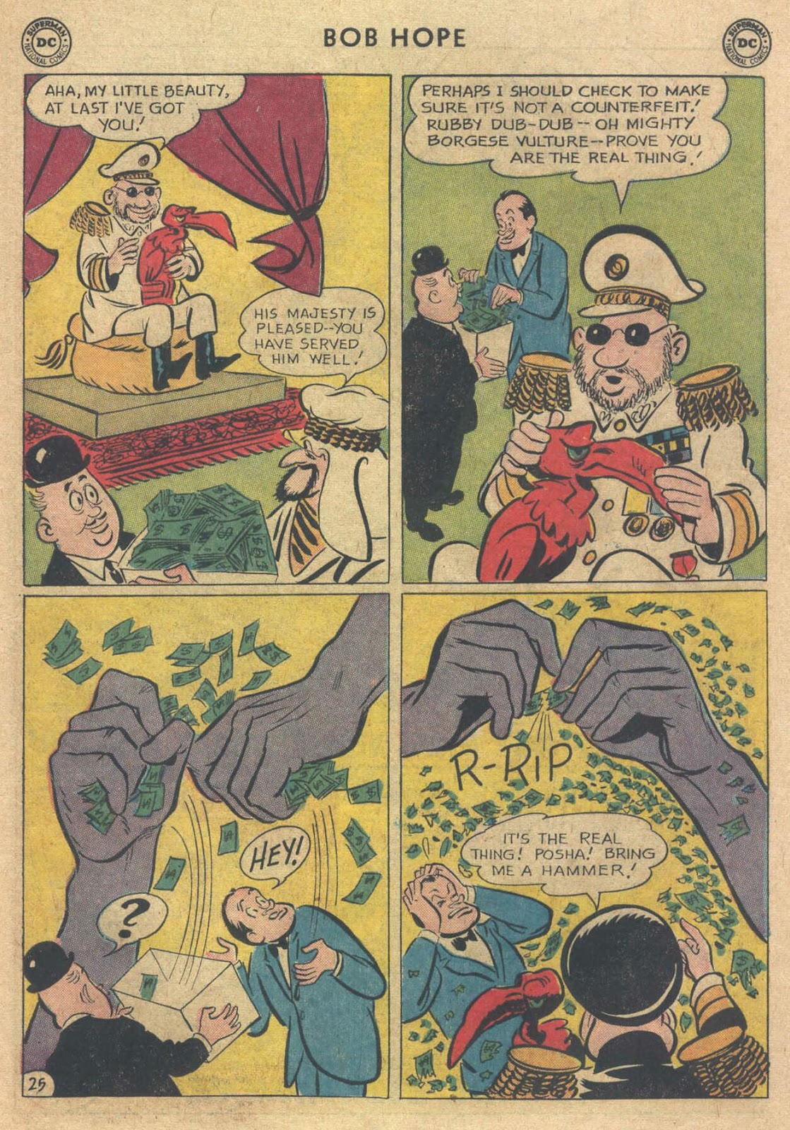 The Adventures of Bob Hope issue 76 - Page 31