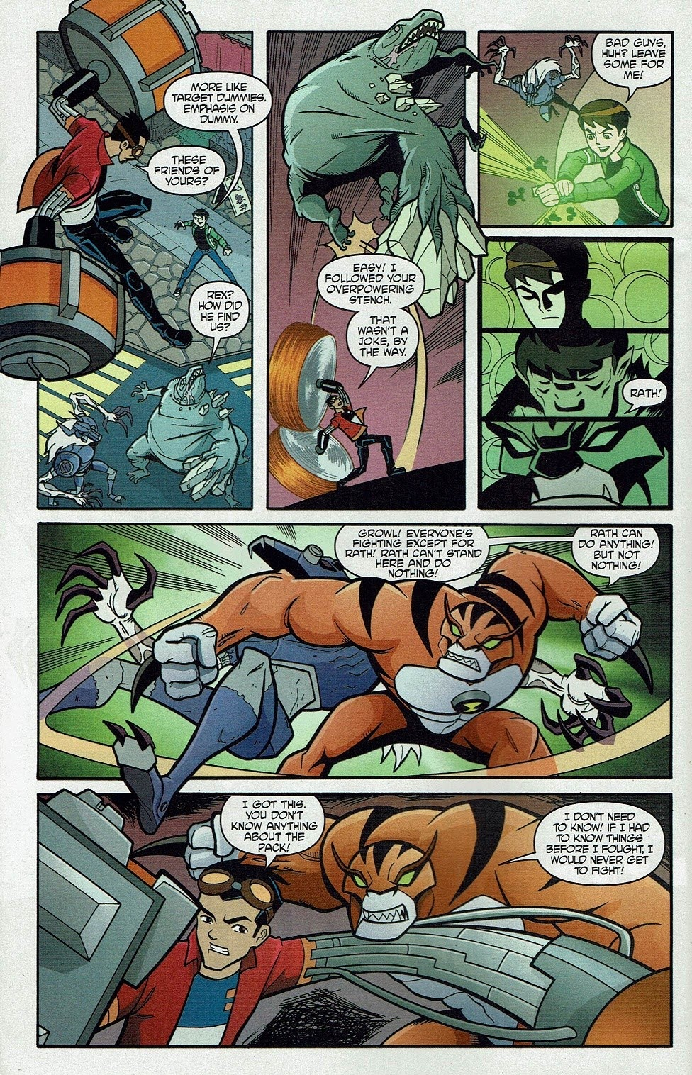 Read online Cartoon Network Action Pack comic -  Issue #65 - 6