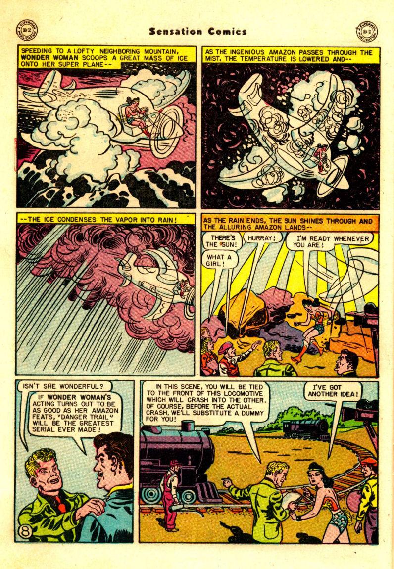 Read online Sensation (Mystery) Comics comic -  Issue #88 - 9