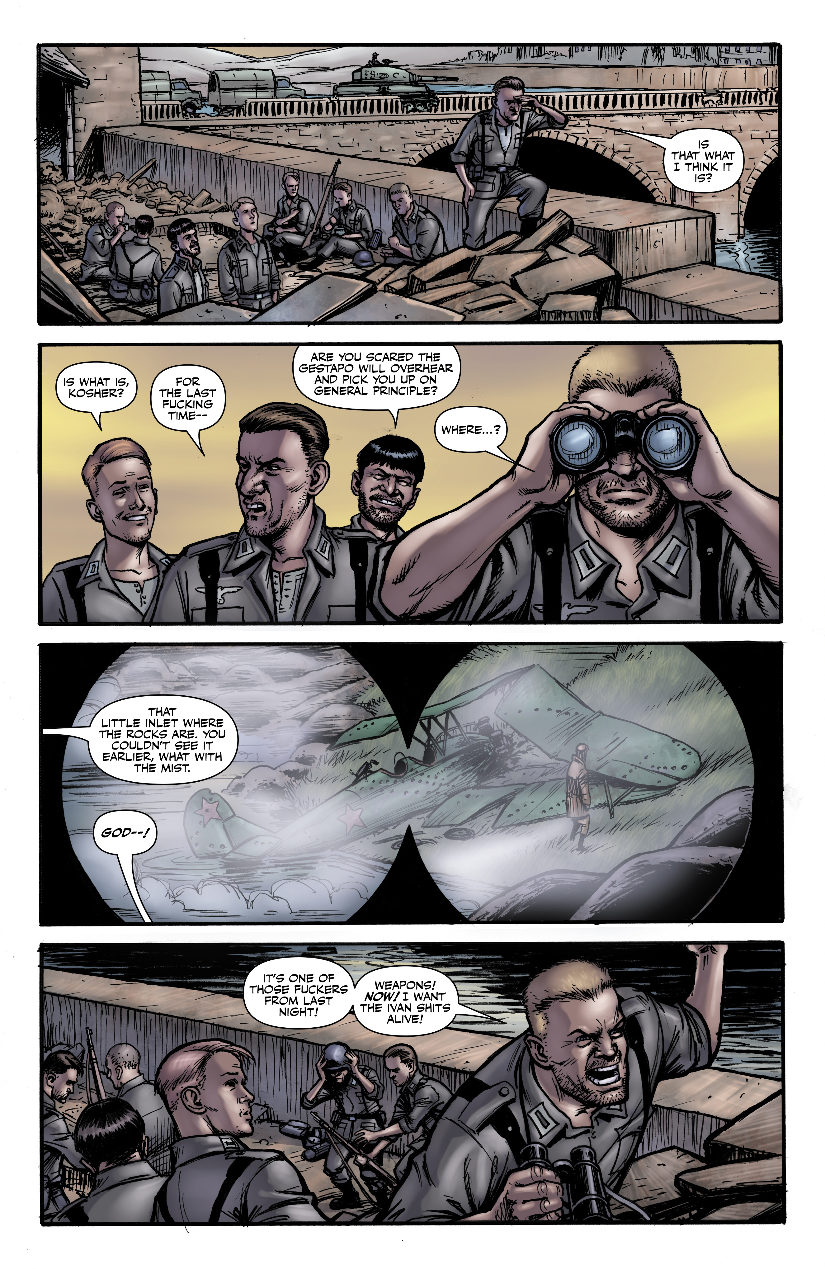 Read online Battlefields: Night Witches comic -  Issue # TPB - 23