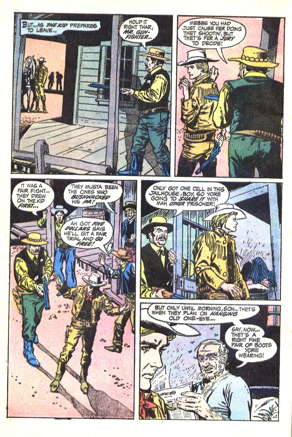 Read online All-Star Western (1970) comic -  Issue #8 - 6