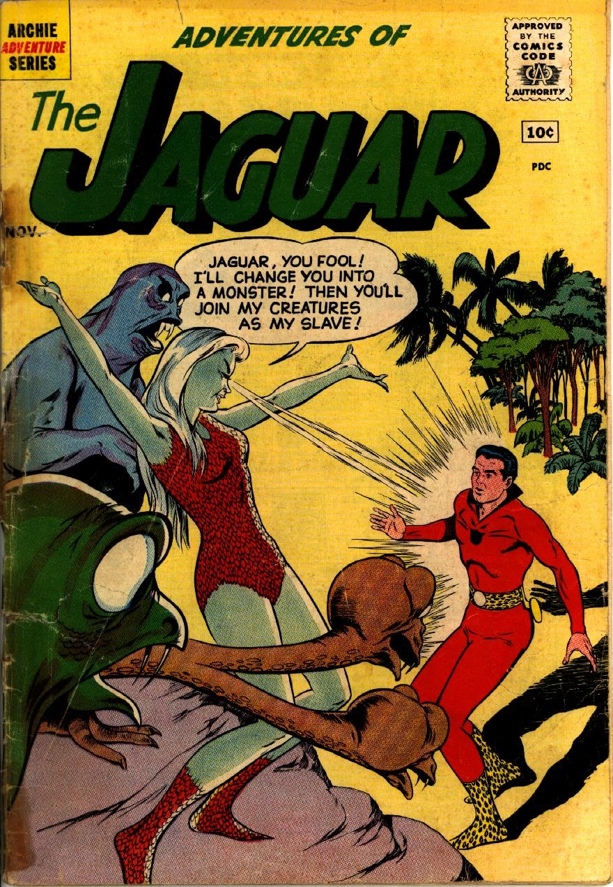 Adventures of the Jaguar issue 3 - Page 1