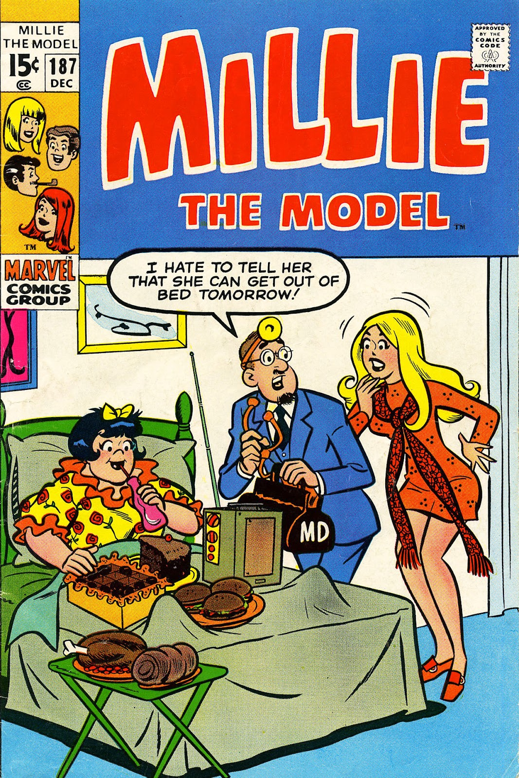 Millie the Model issue 187 - Page 1