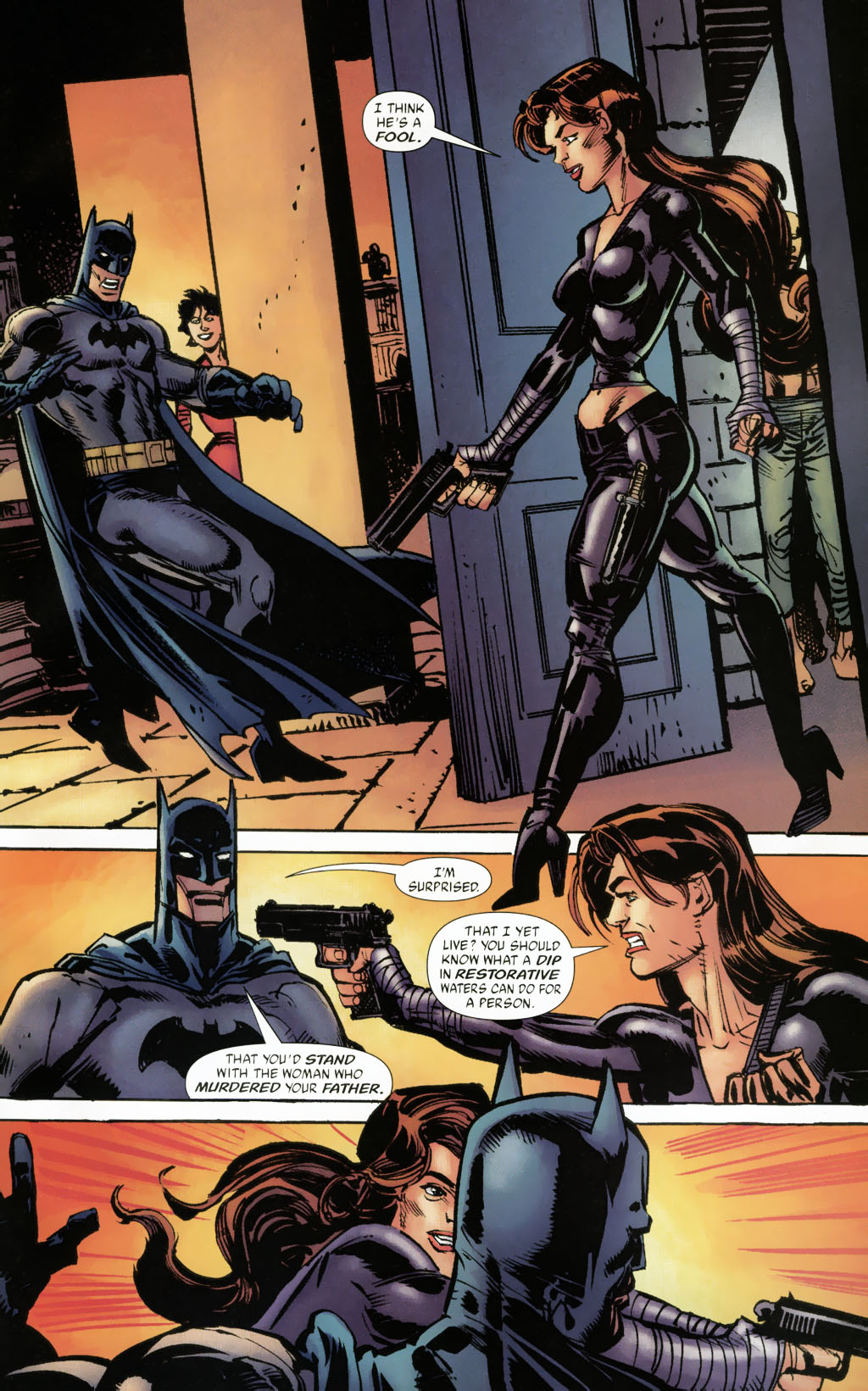 Read online Batman: Death and the Maidens comic -  Issue #9 - 20