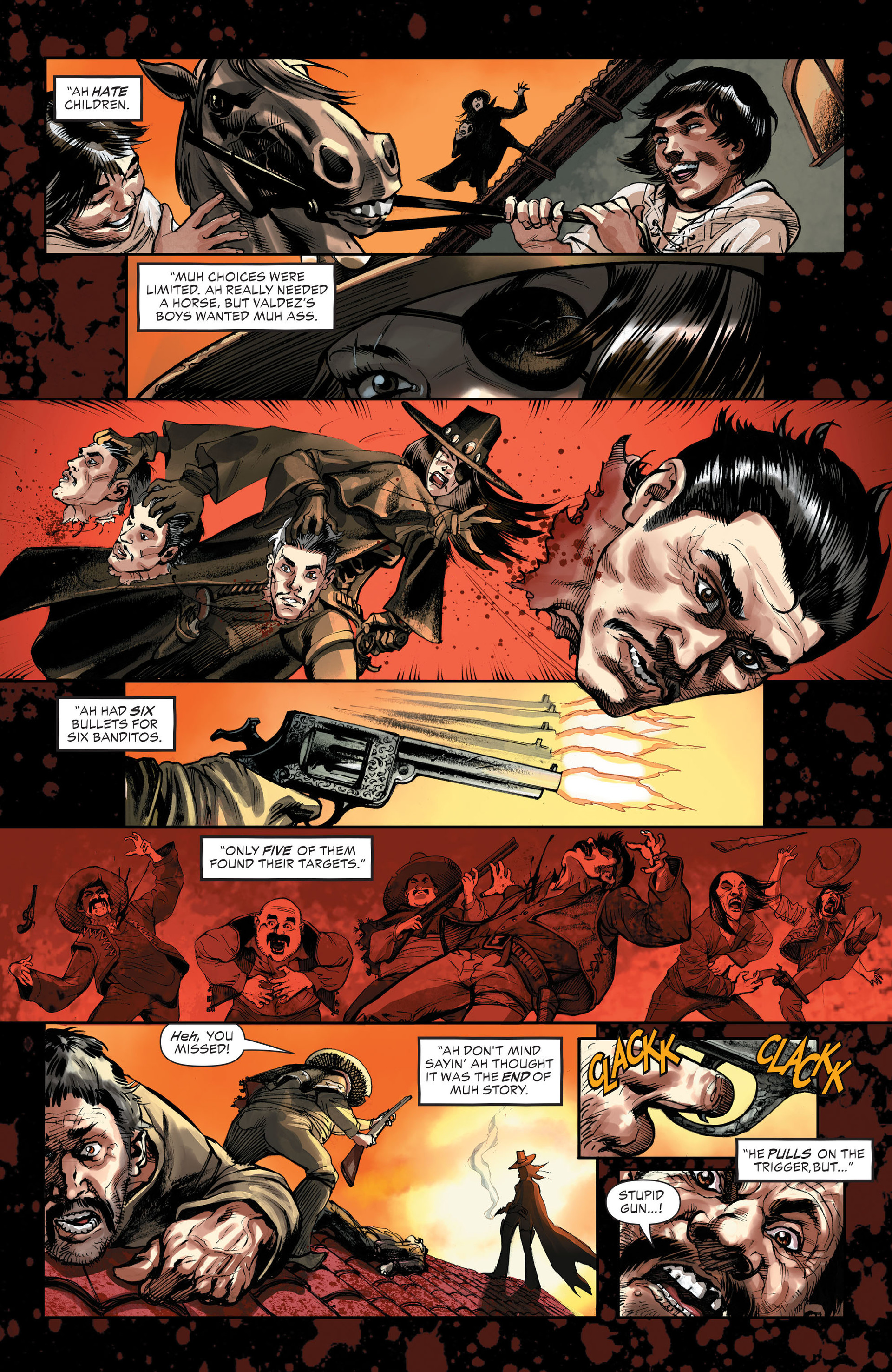 Read online All-Star Western (2011) comic -  Issue #32 - 16