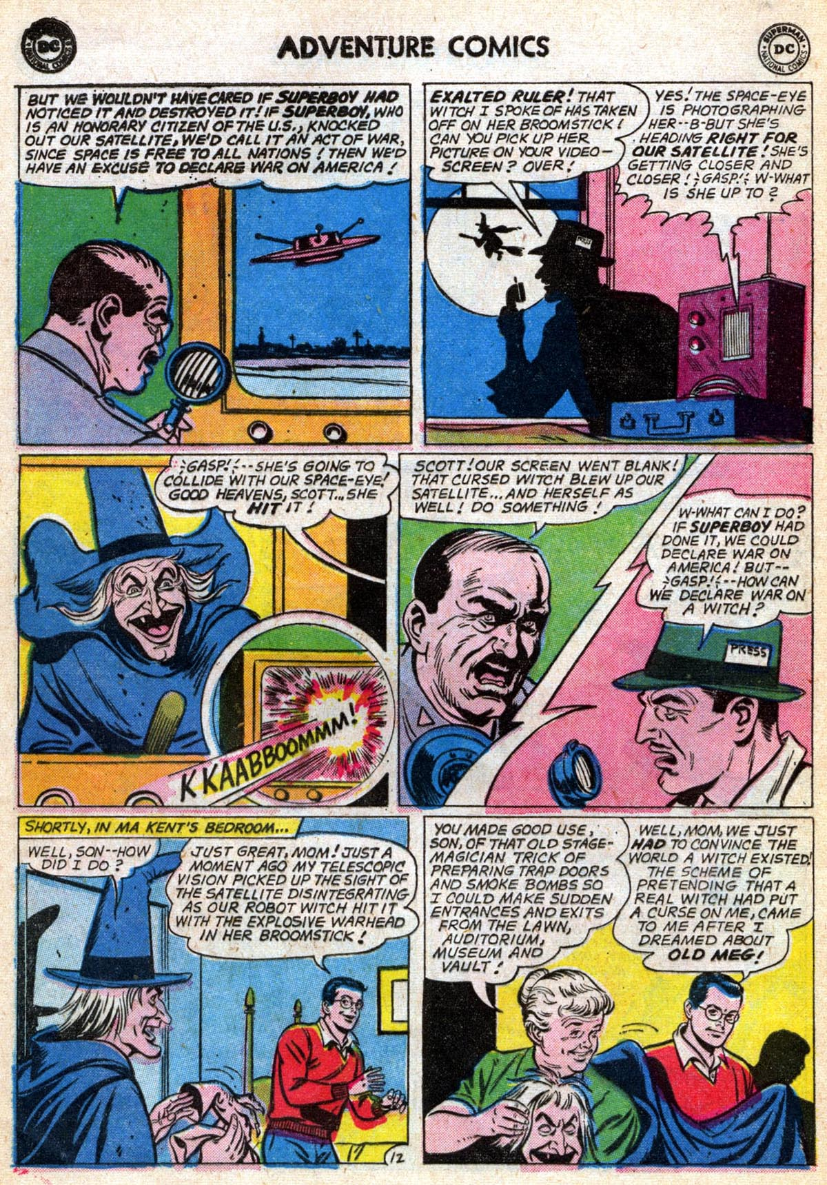 Read online Adventure Comics (1938) comic -  Issue #286 - 16