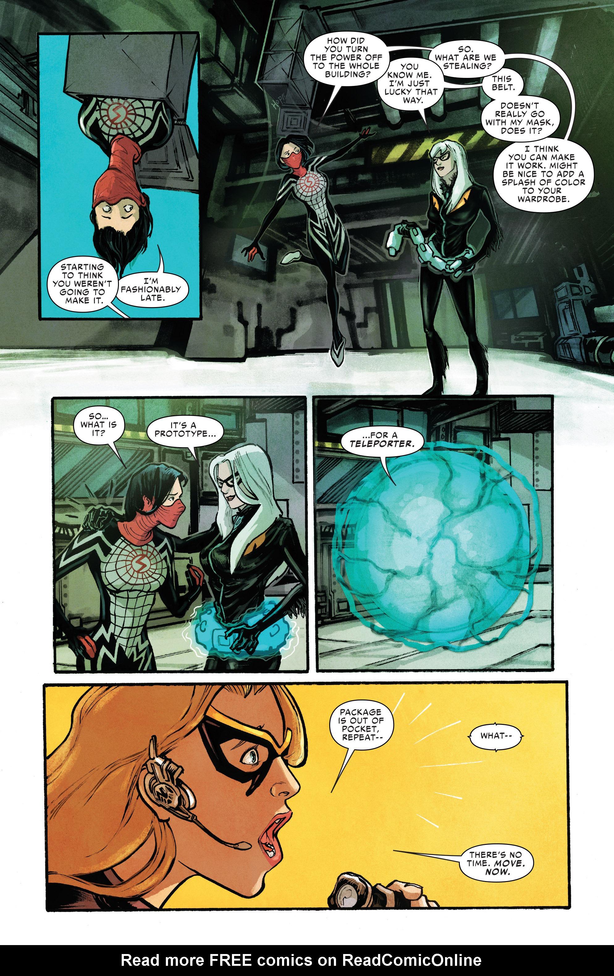 Read online Silk (2016) comic -  Issue #10 - 10