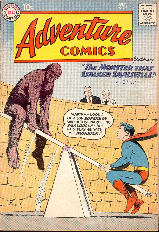 Read online Adventure Comics (1938) comic -  Issue #274 - 1