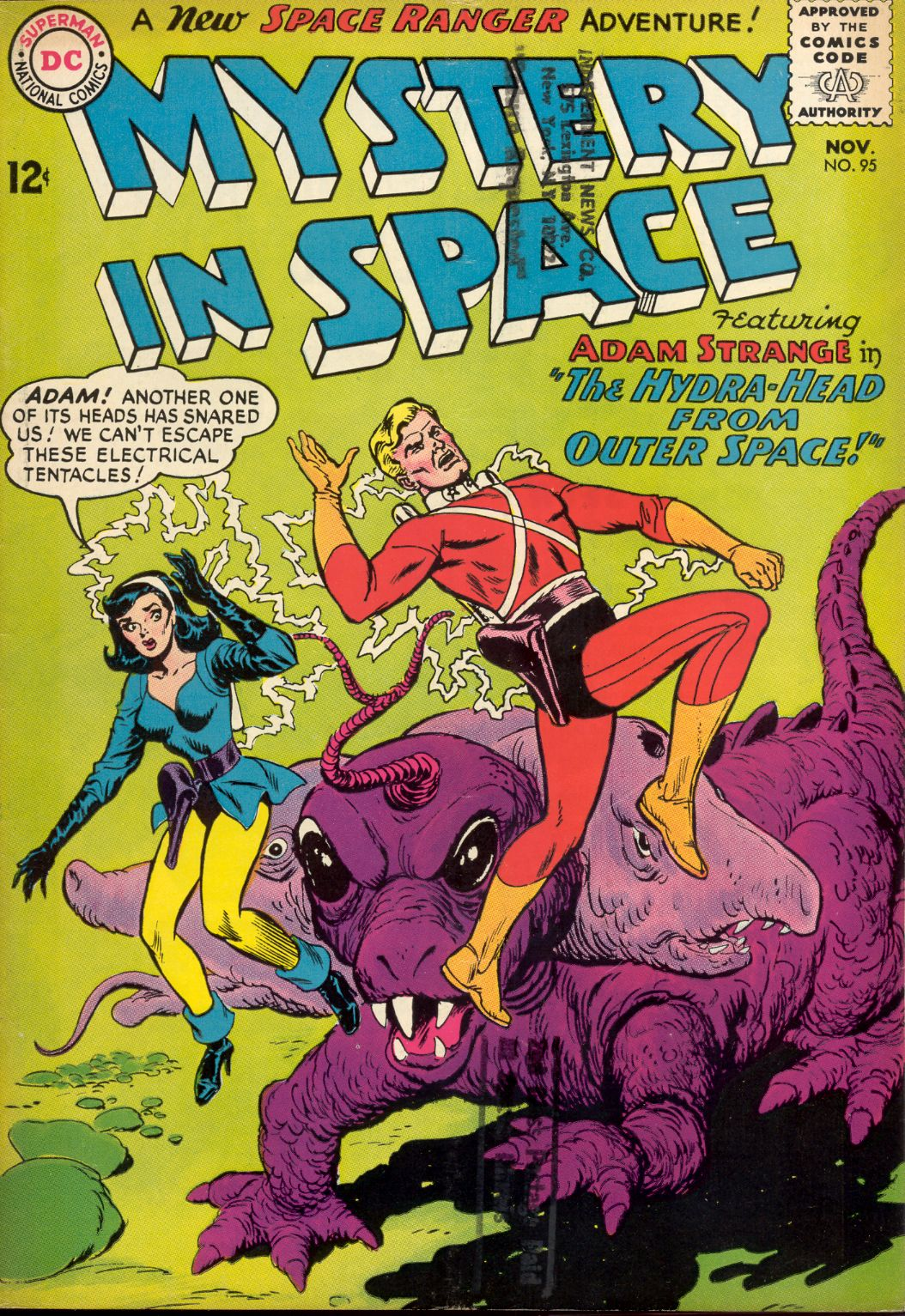 Mystery in Space (1951) issue 95 - Page 1