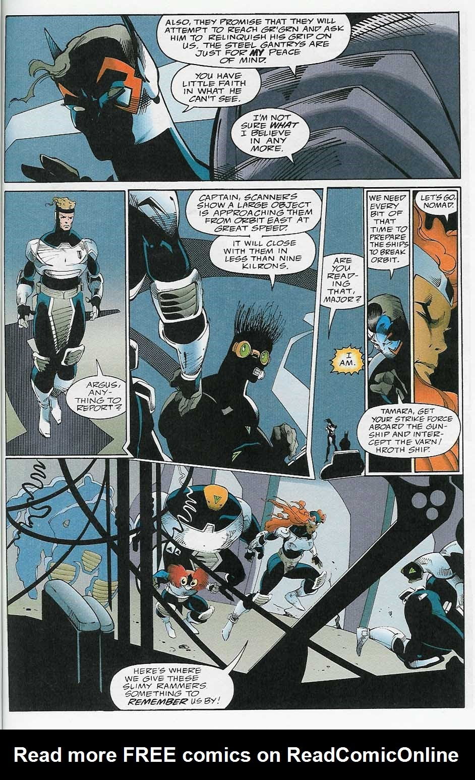 Alien Legion: On the Edge issue 2 - Page 38
