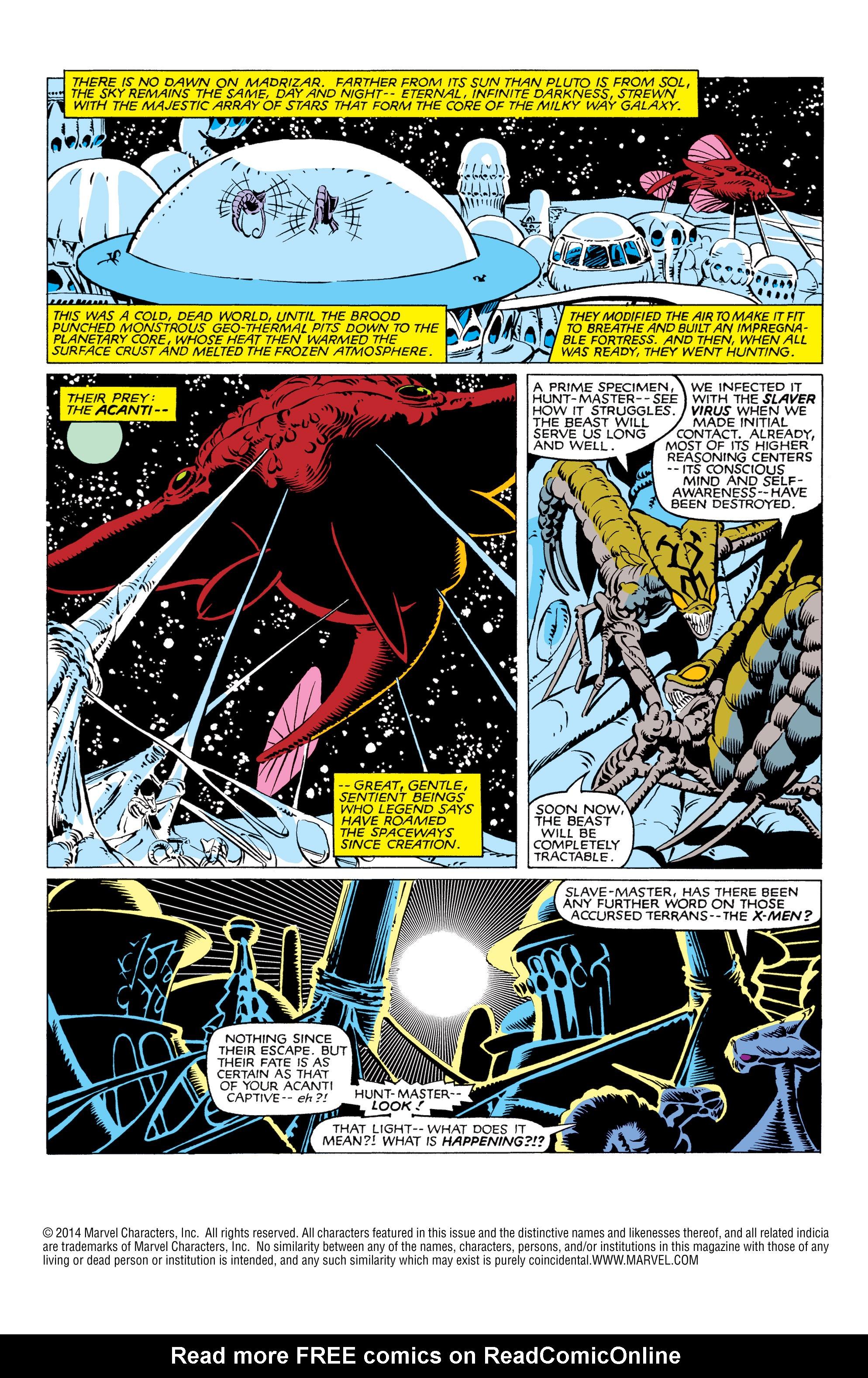 Read online Uncanny X-Men (1963) comic -  Issue #166 - 2