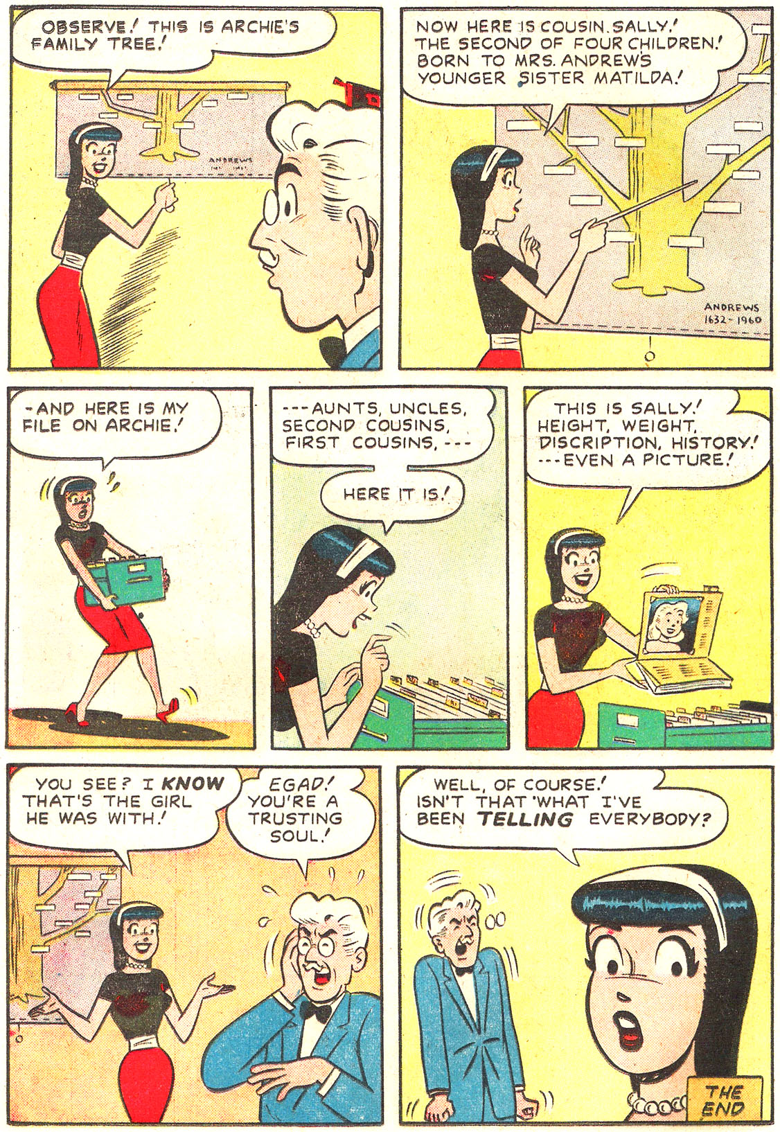 Read online Archie's Girls Betty and Veronica comic -  Issue #54 - 8