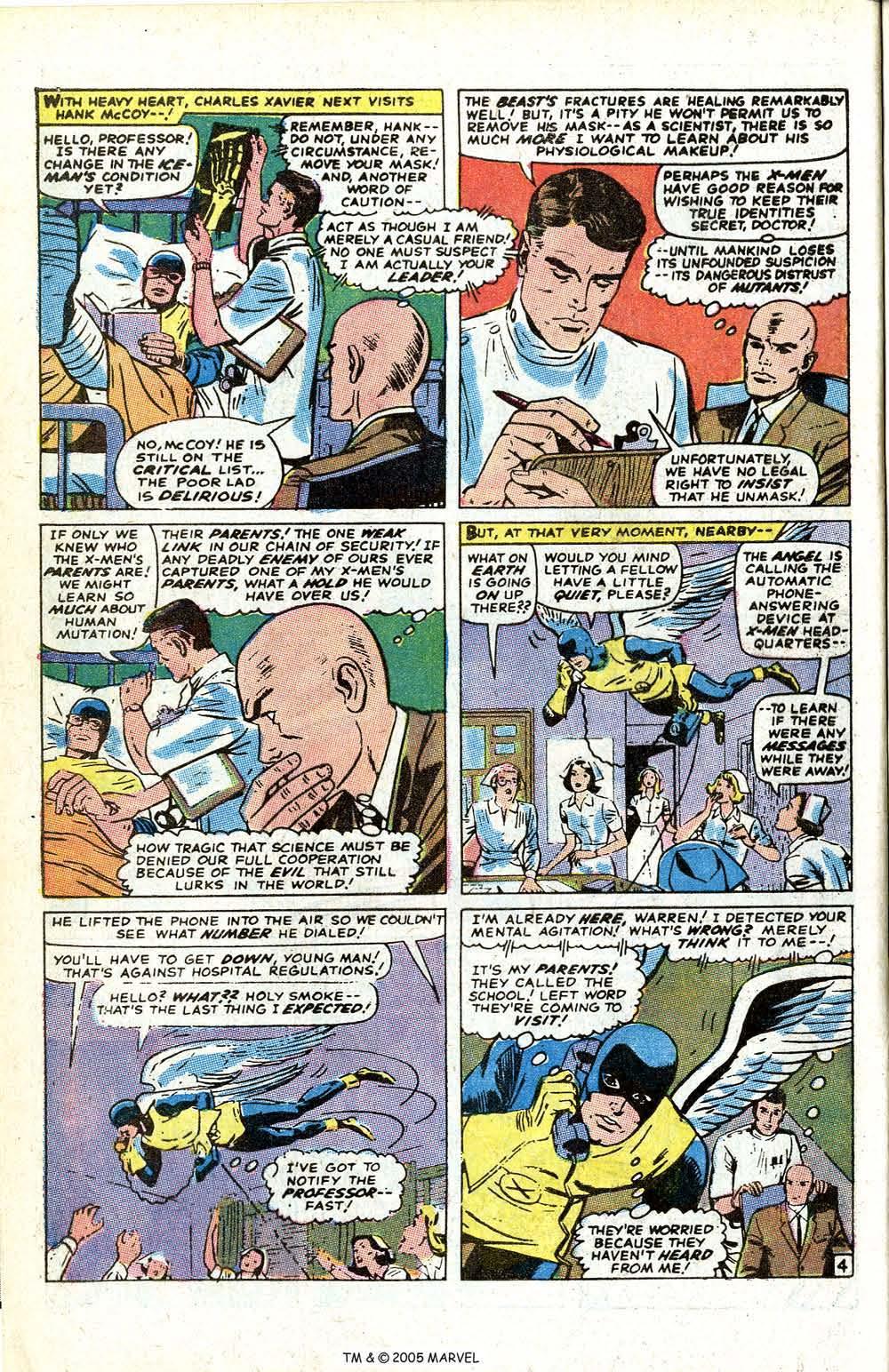 Uncanny X-Men (1963) issue 70 - Page 6