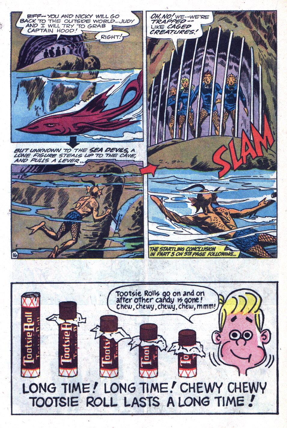 Read online Sea Devils comic -  Issue #18 - 20