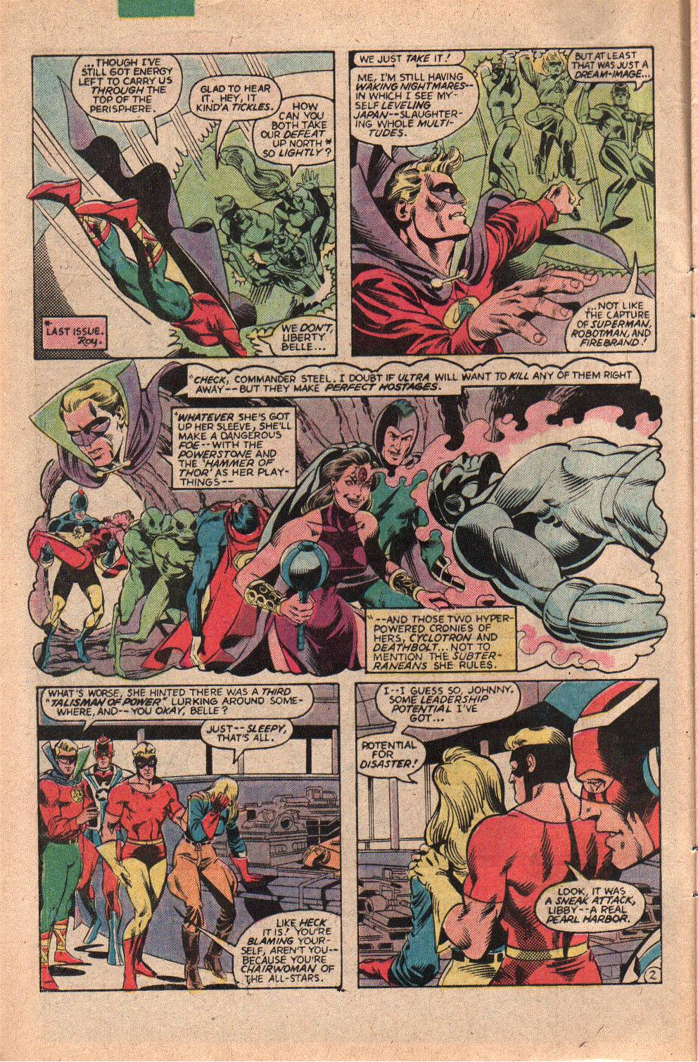 Read online All-Star Squadron comic -  Issue #23 - 4
