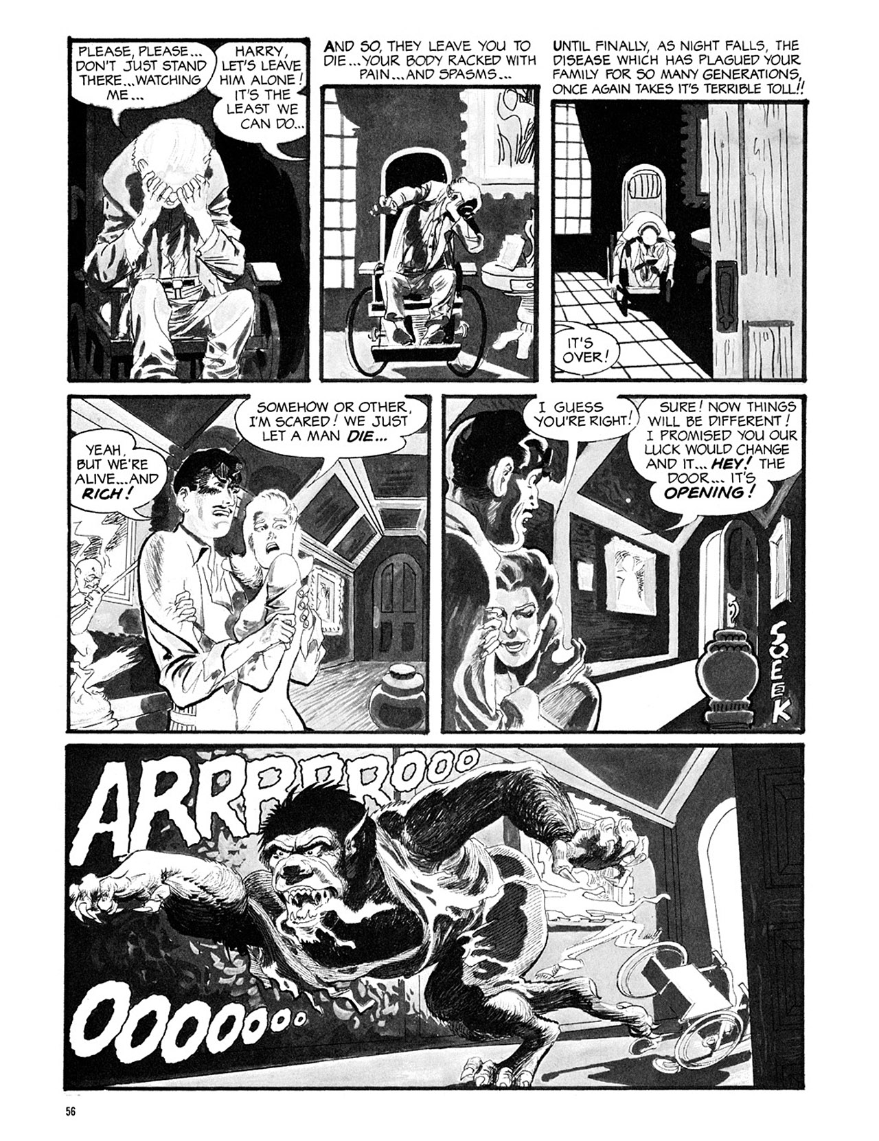 Read online Eerie Archives comic -  Issue # TPB 3 - 57