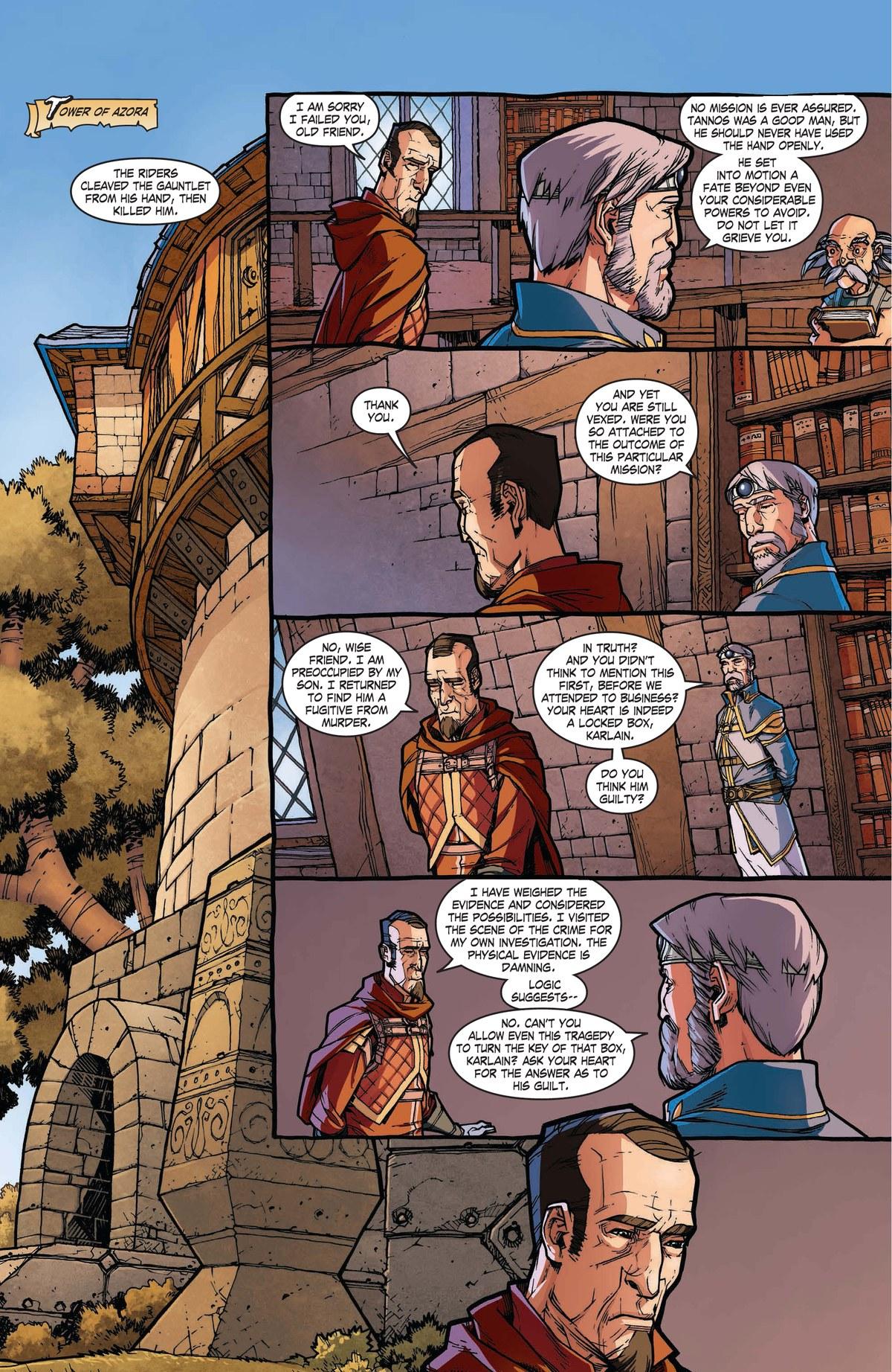 Read online World of Warcraft: Dark Riders comic -  Issue # Full - 37