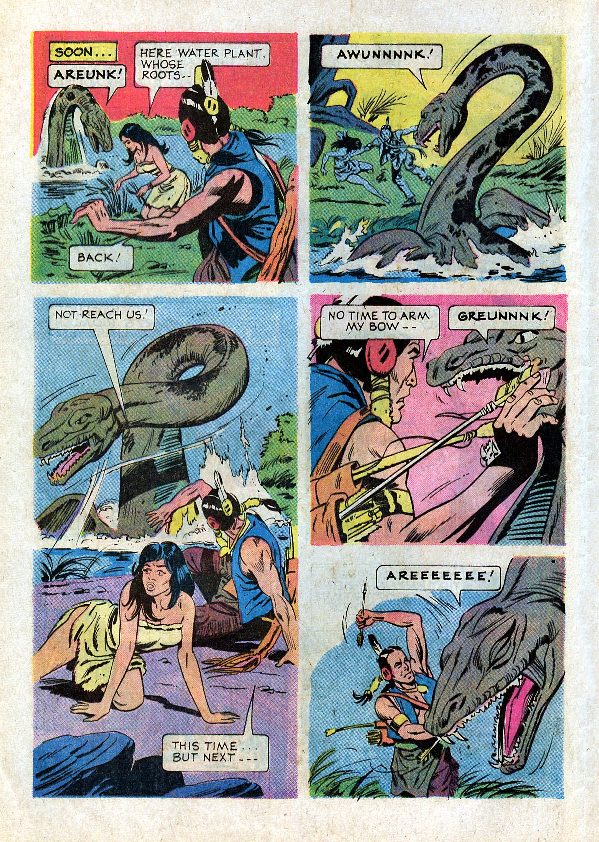 Read online Turok, Son of Stone comic -  Issue #93 - 12