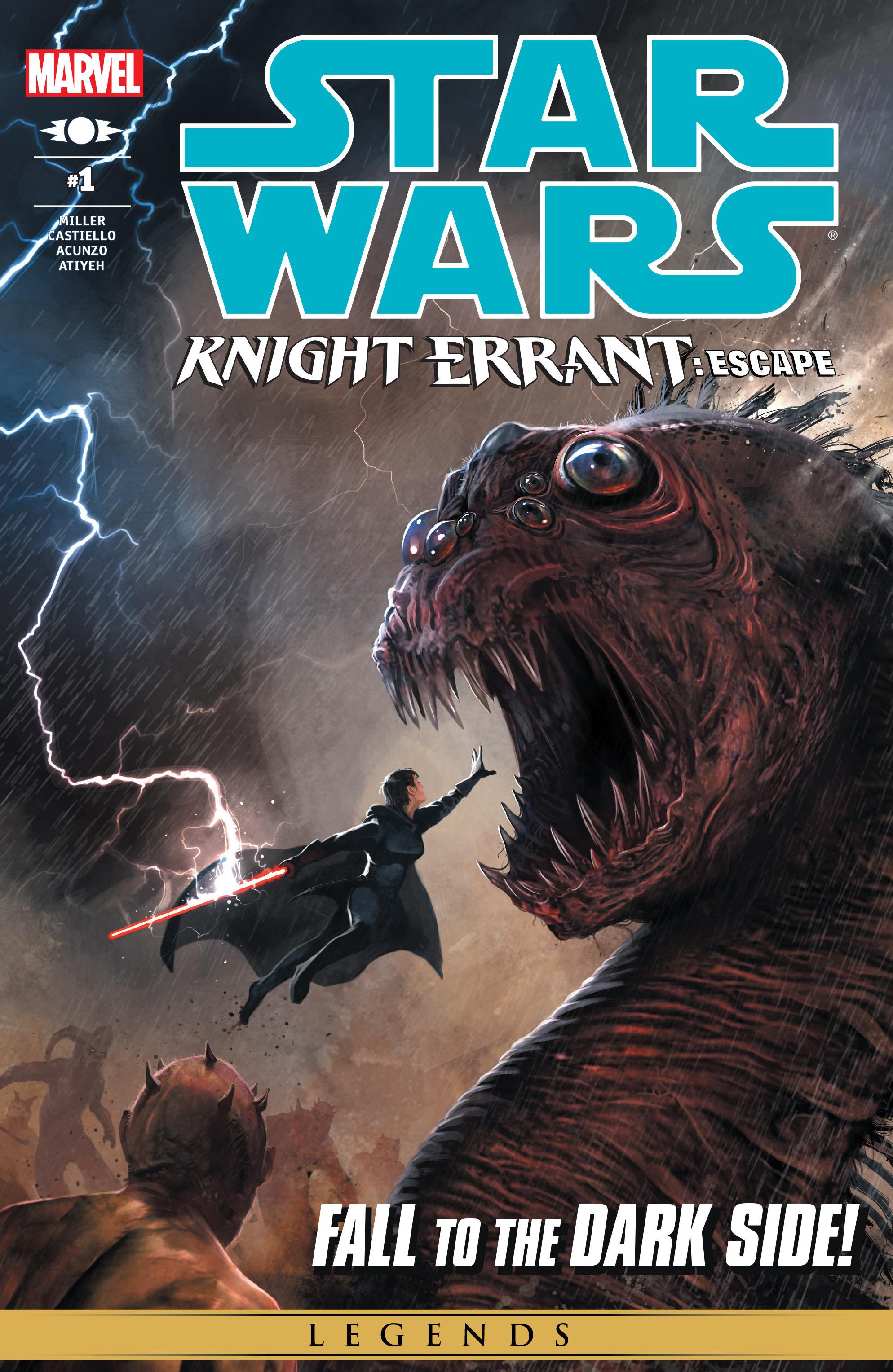 Read online Star Wars: Knight Errant - Escape comic -  Issue #1 - 1
