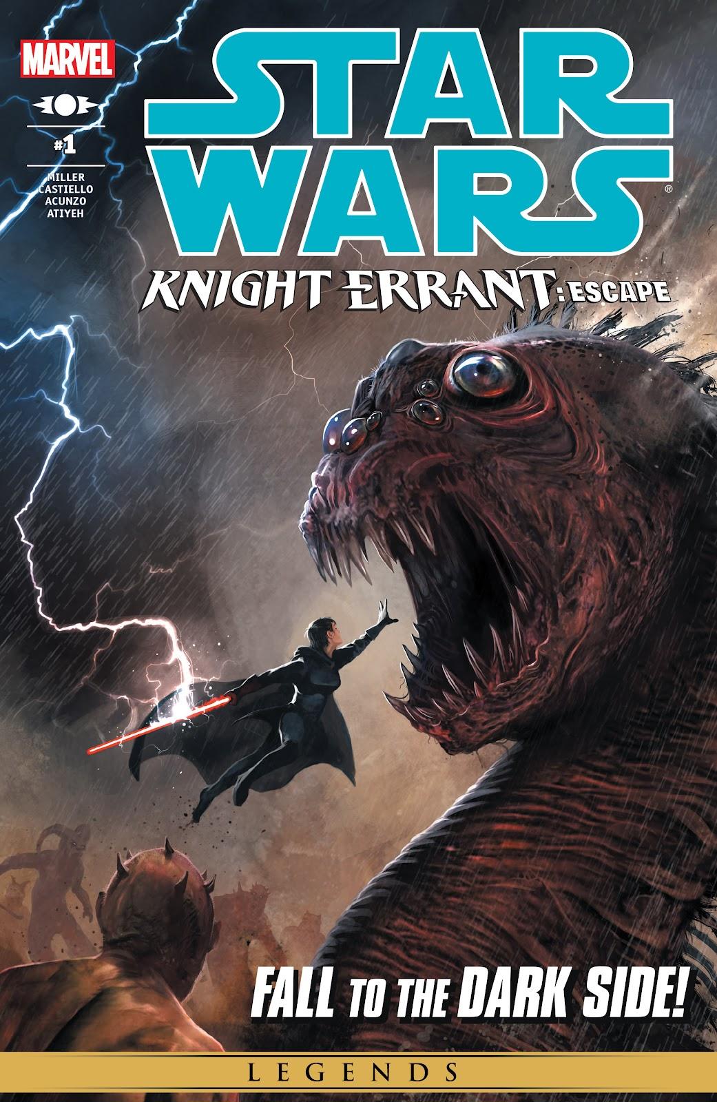 Star Wars: Knight Errant - Escape 1 Page 1