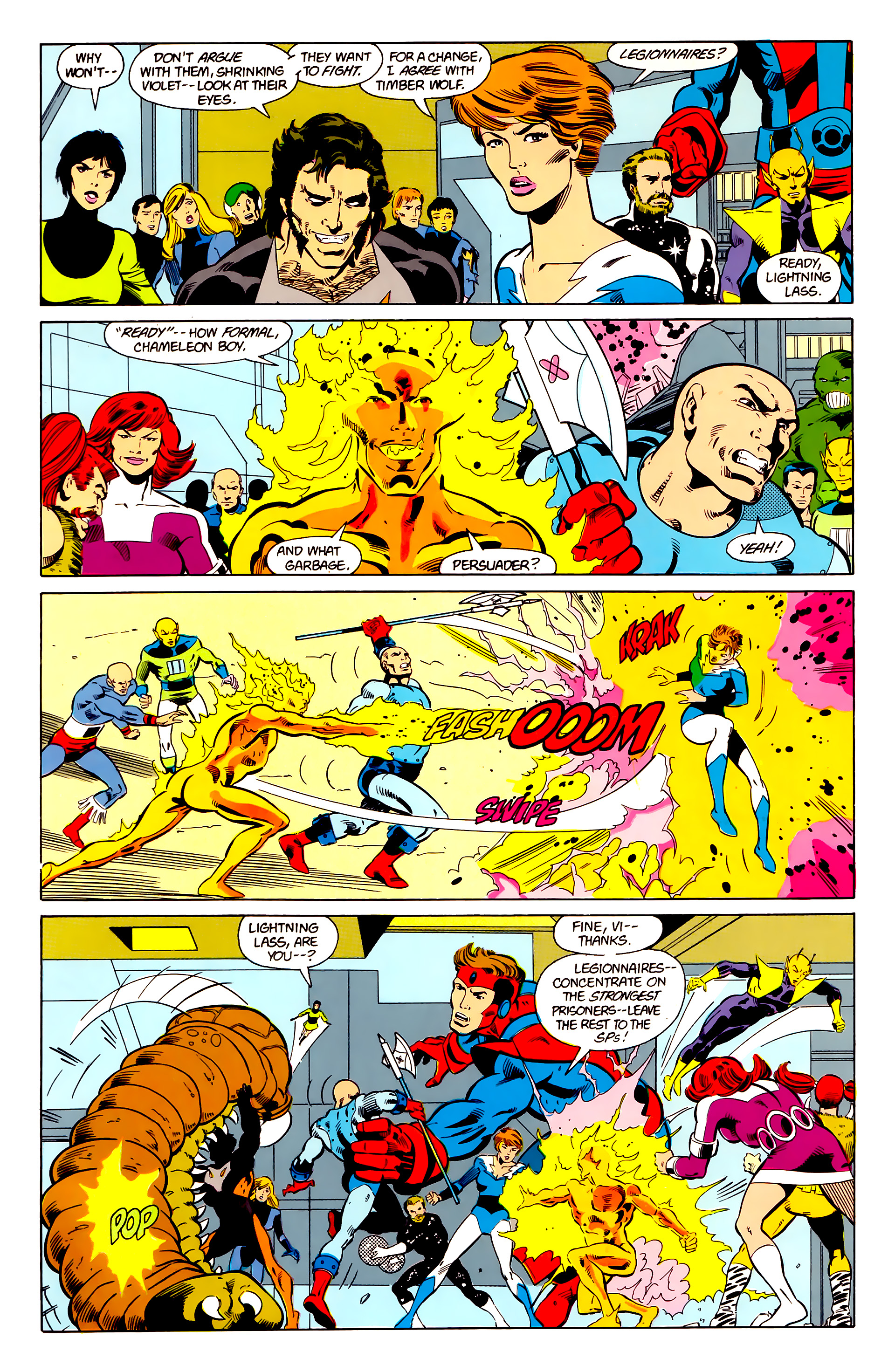 Legion of Super-Heroes (1984) 21 Page 6