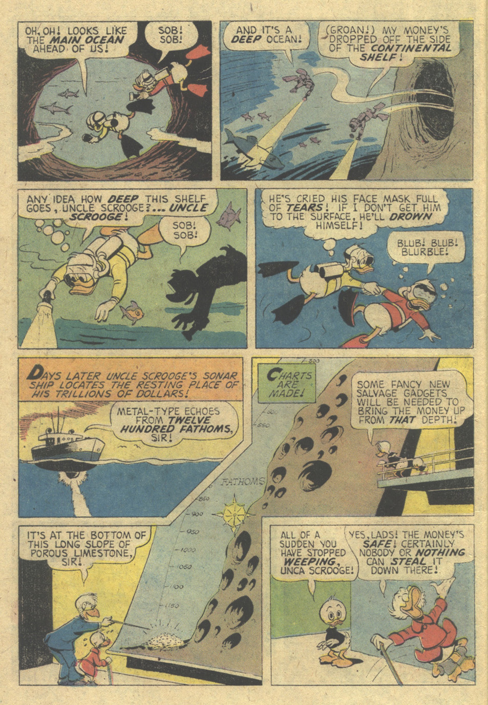 Read online Uncle Scrooge (1953) comic -  Issue #125 - 6