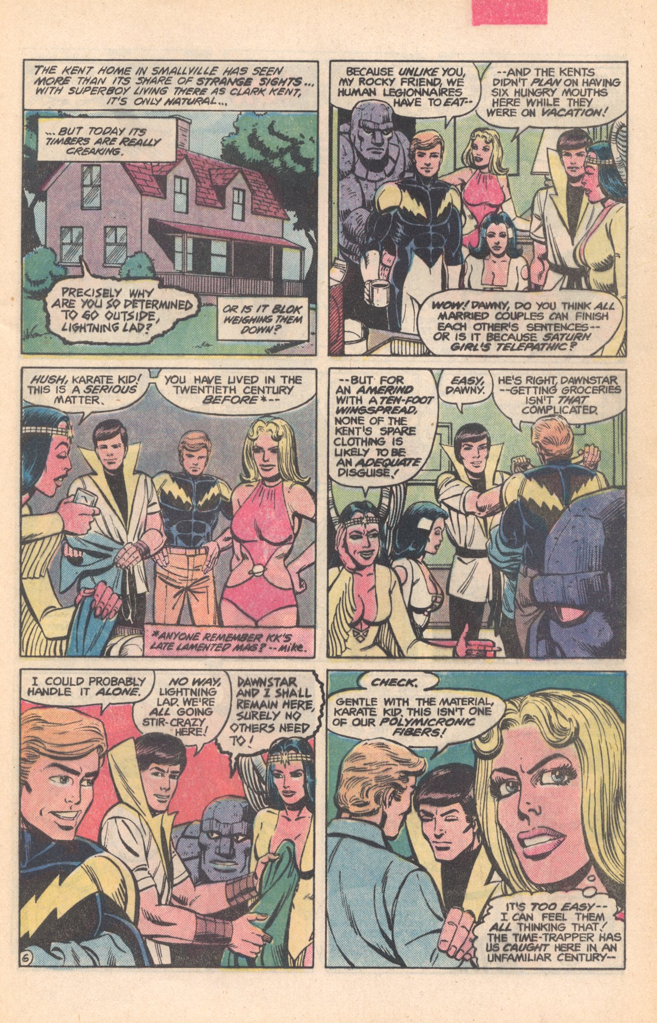 Legion of Super-Heroes (1980) 281 Page 6