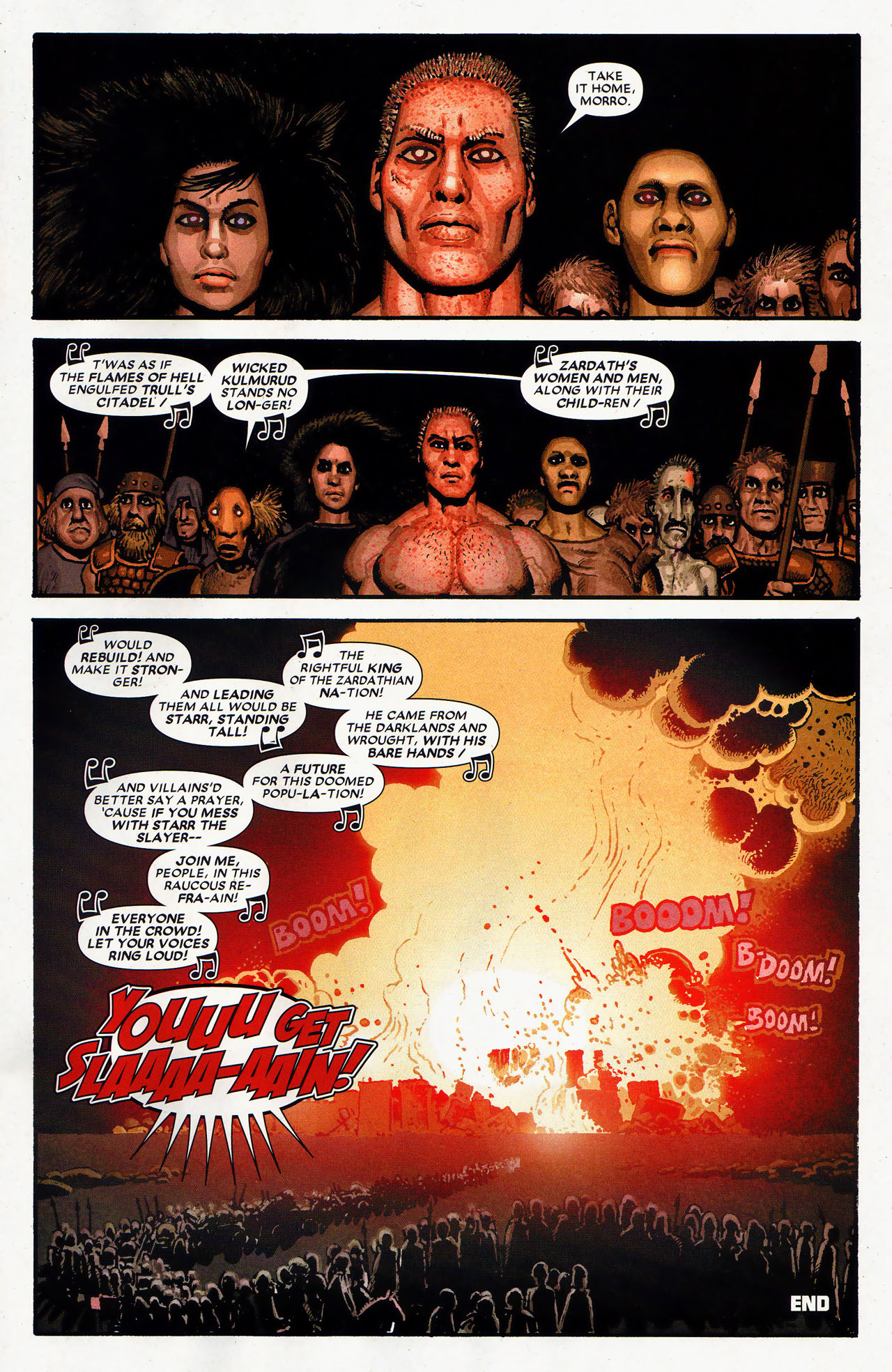 Read online Starr the Slayer comic -  Issue #4 - 22