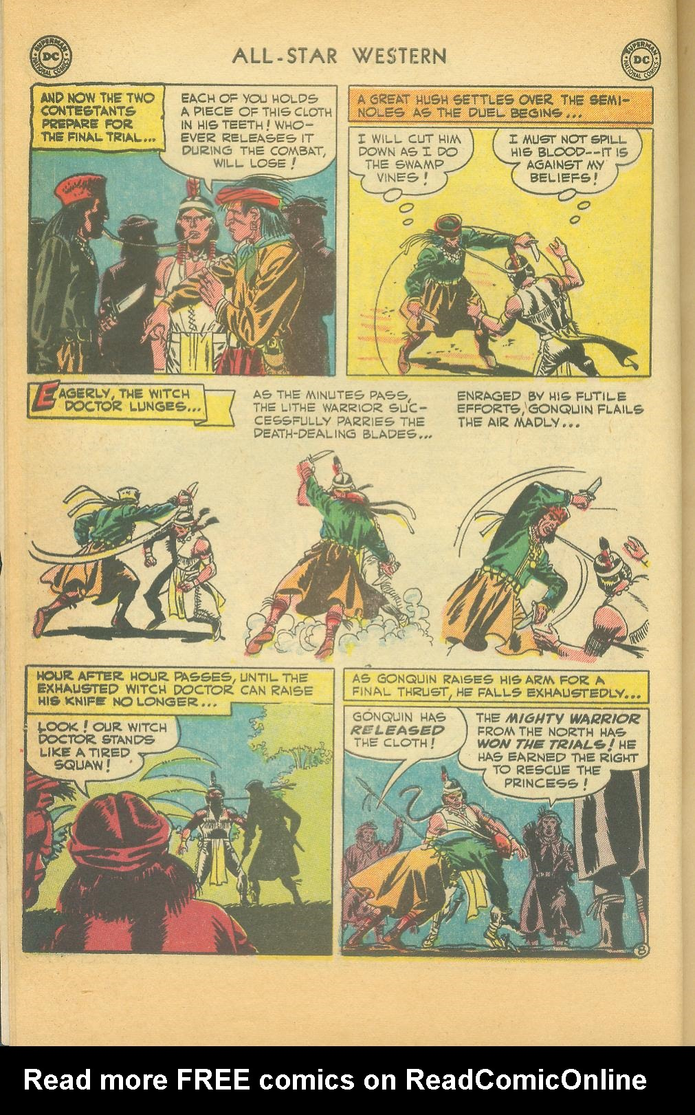 Read online All-Star Western (1951) comic -  Issue #61 - 10