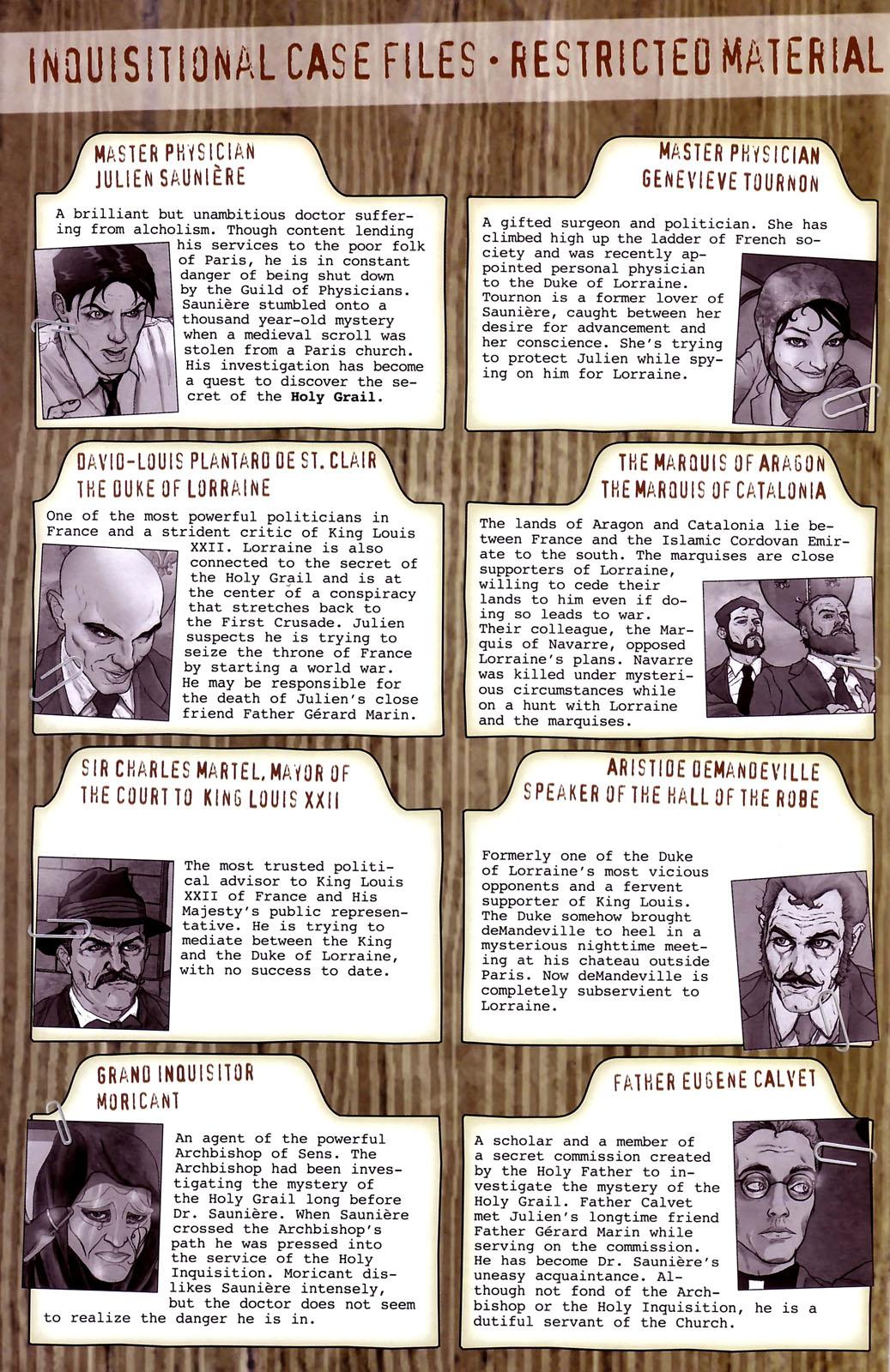 Read online Rex Mundi comic -  Issue #14 - 4
