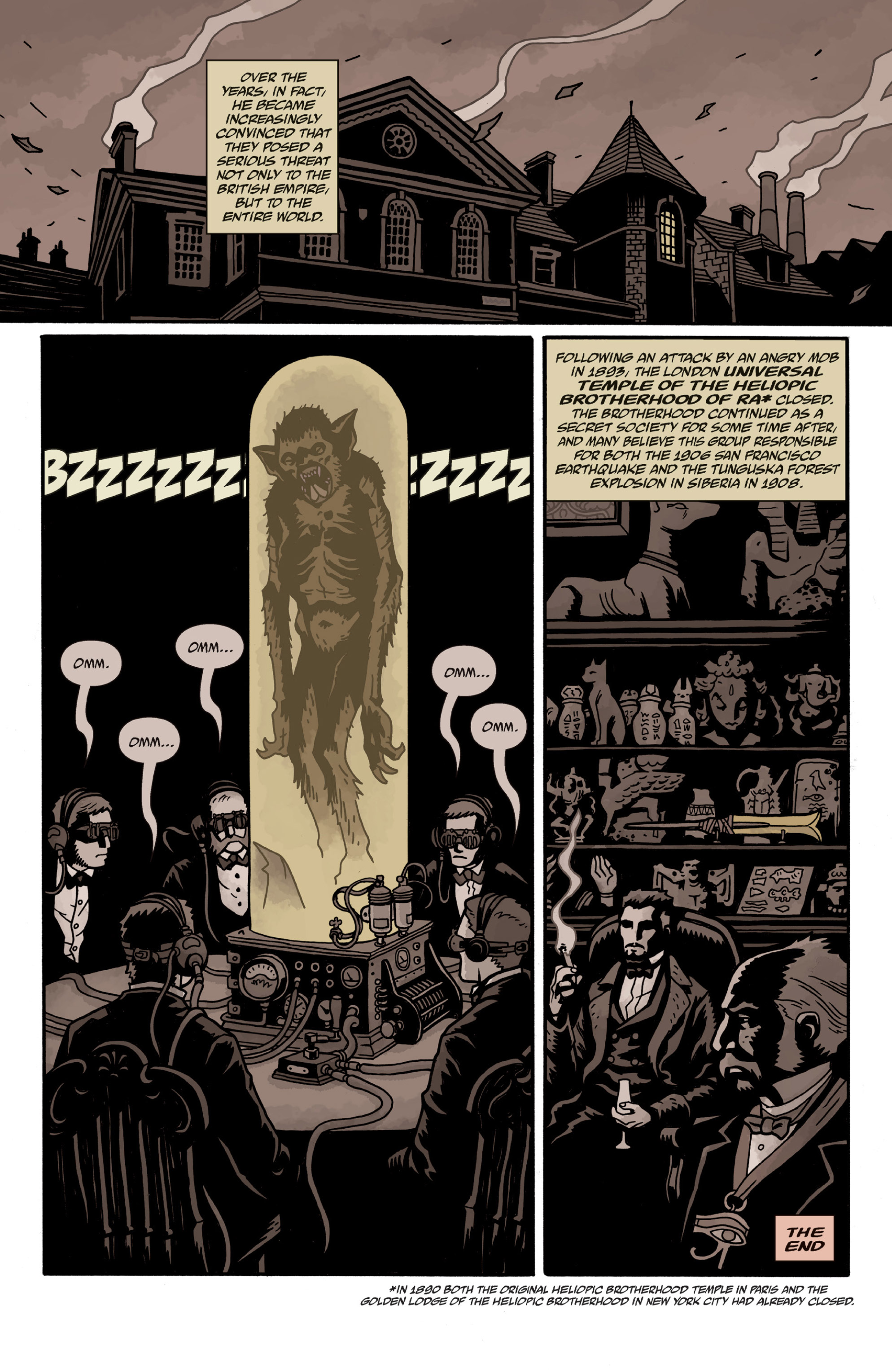 Read online Sir Edward Grey, Witchfinder: In the Service of Angels comic -  Issue # TPB - 125