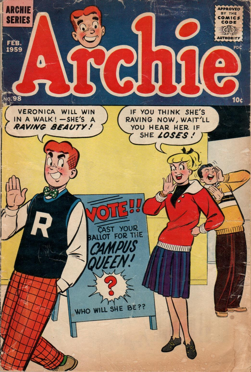 Archie Comics issue 098 - Page 1