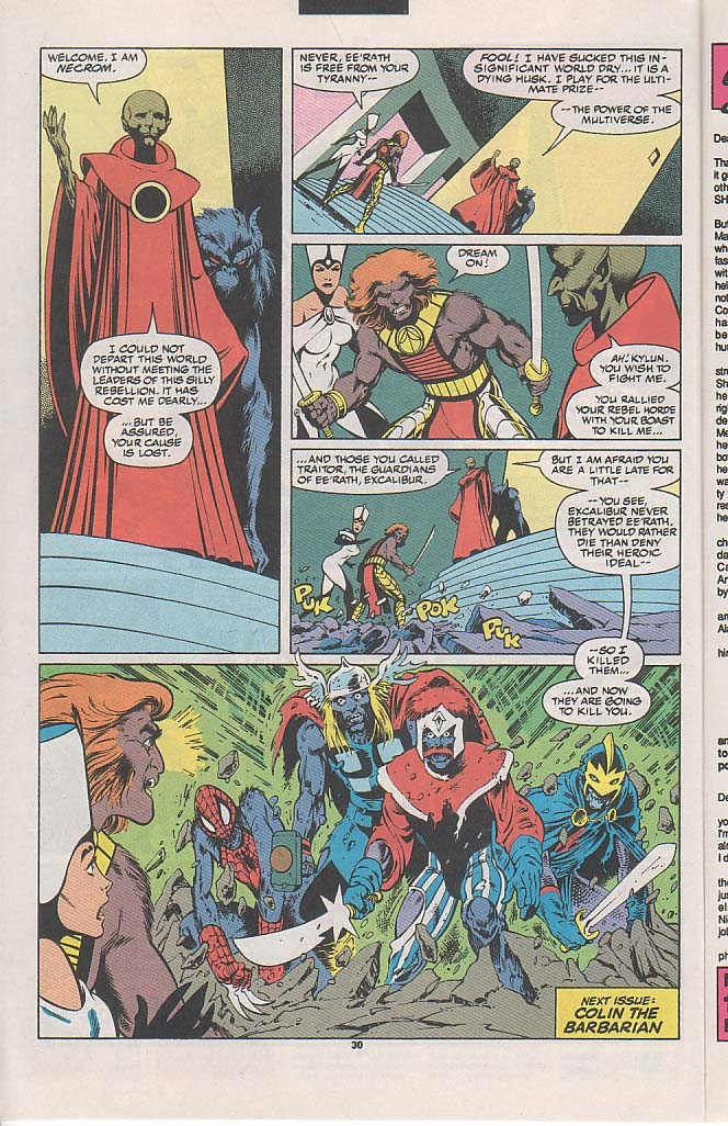 Excalibur (1988) issue 45 - Page 22