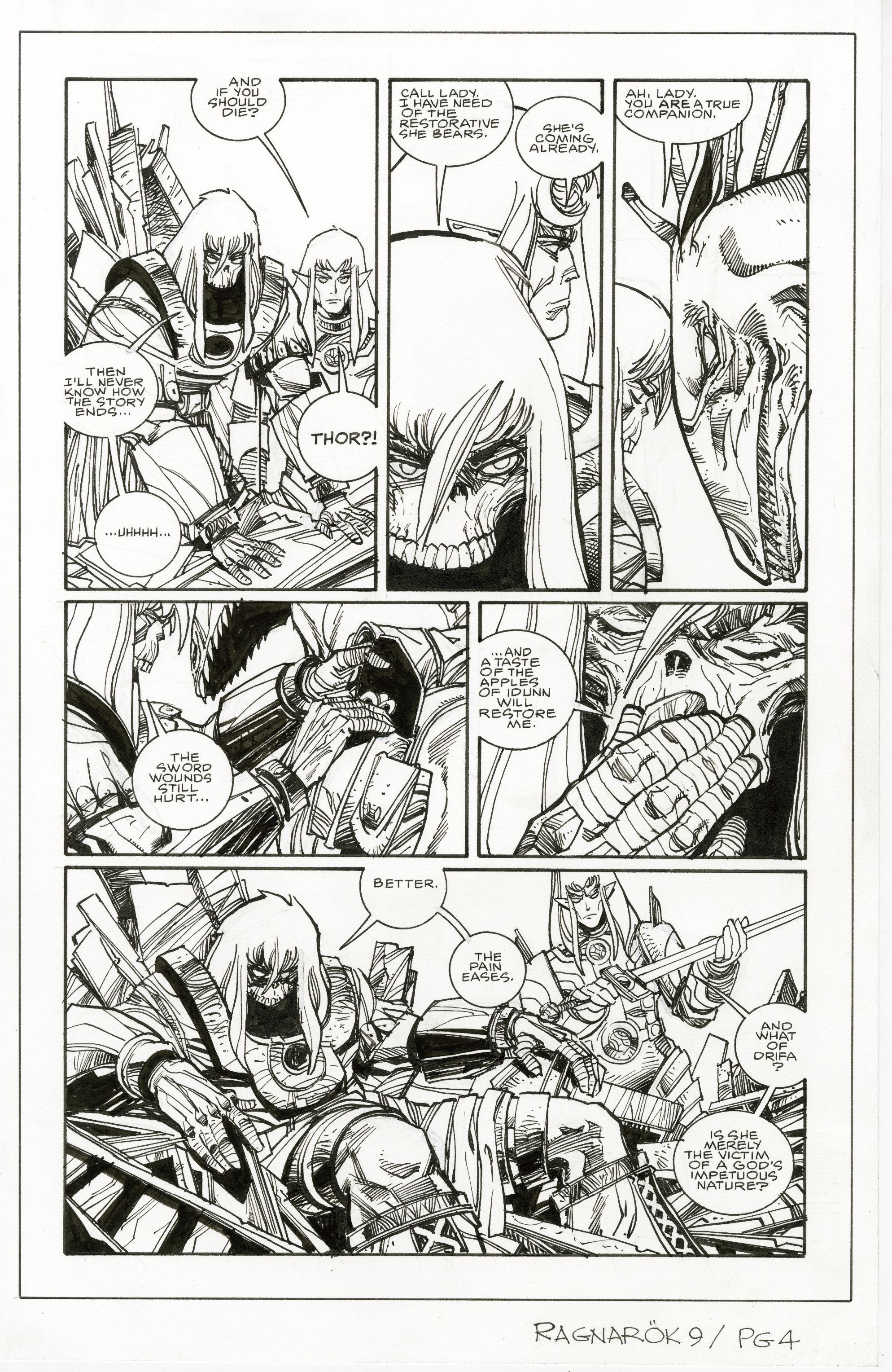 Read online Ragnarok comic -  Issue #9 - 28