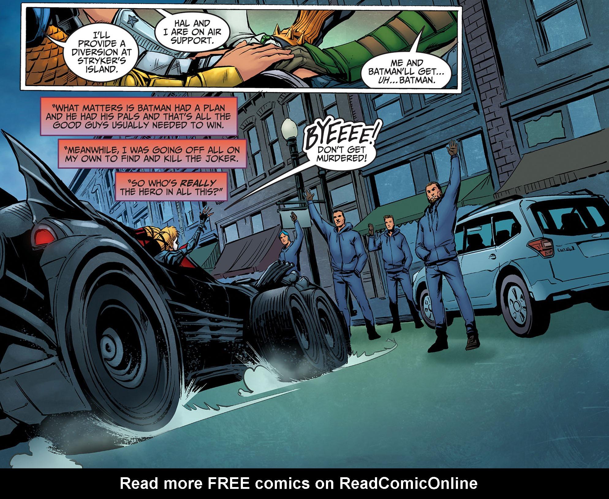 Read online Injustice: Ground Zero comic -  Issue #14 - 5