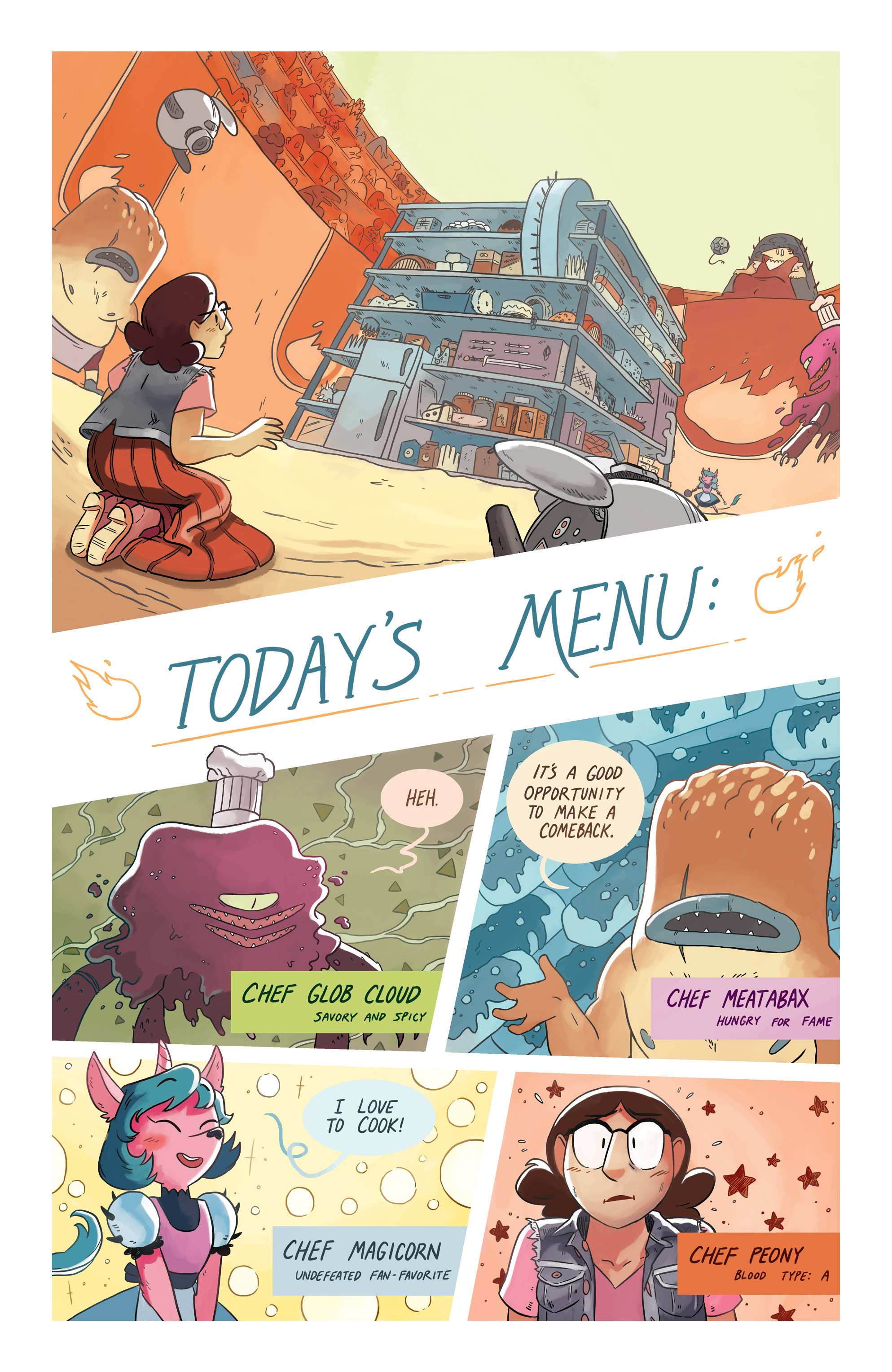 Read online Space Battle Lunchtime comic -  Issue #6 - 7