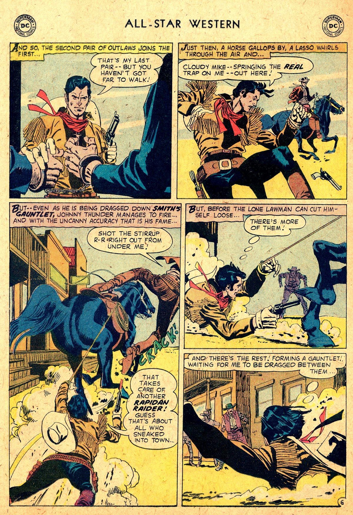 Read online All-Star Western (1951) comic -  Issue #104 - 30