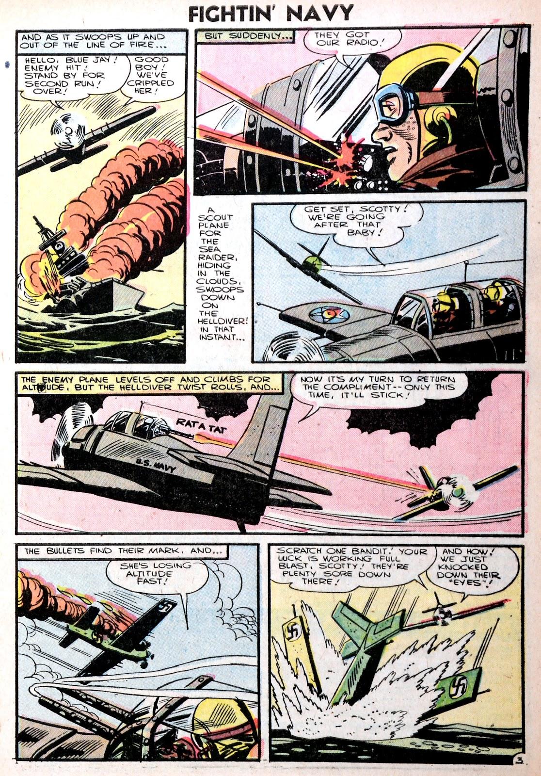 Read online Fightin' Navy comic -  Issue #75 - 5
