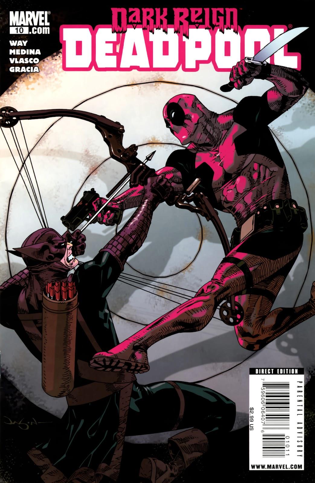 Read online Deadpool (2008) comic -  Issue #10 - 1