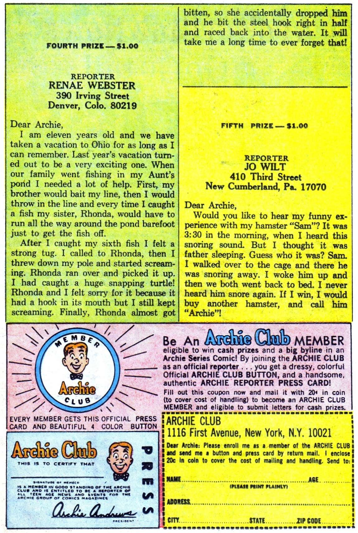 Read online Archie (1960) comic -  Issue #182 - 11
