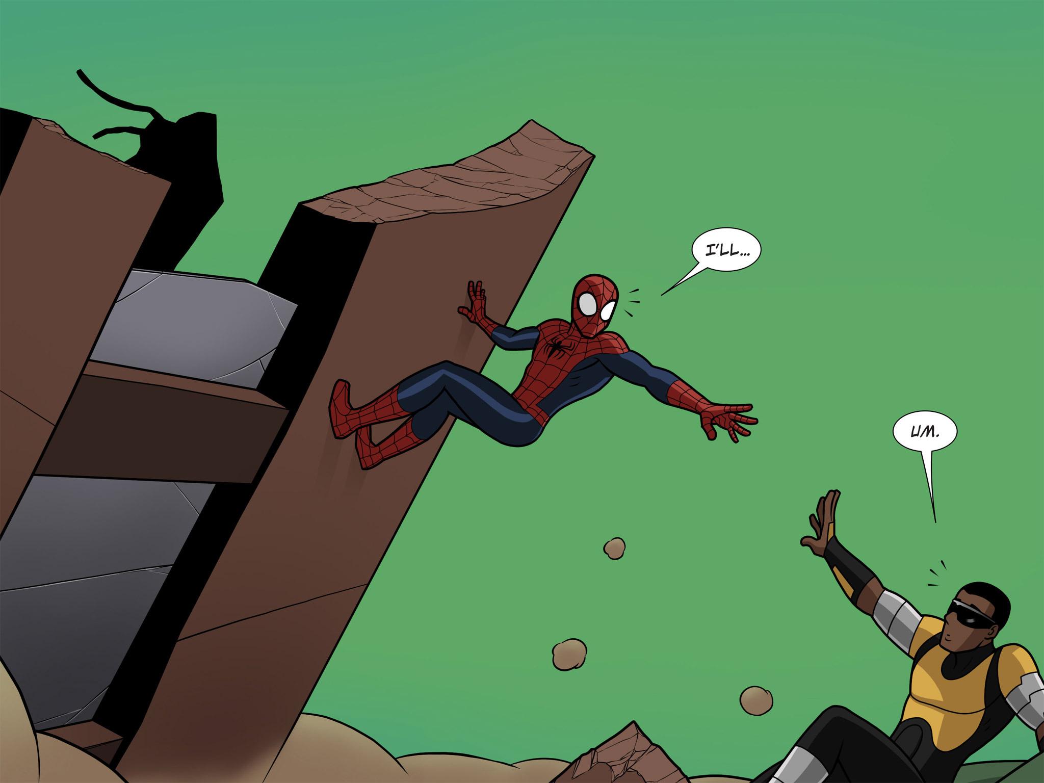 Read online Ultimate Spider-Man (Infinite Comics) (2015) comic -  Issue #10 - 15
