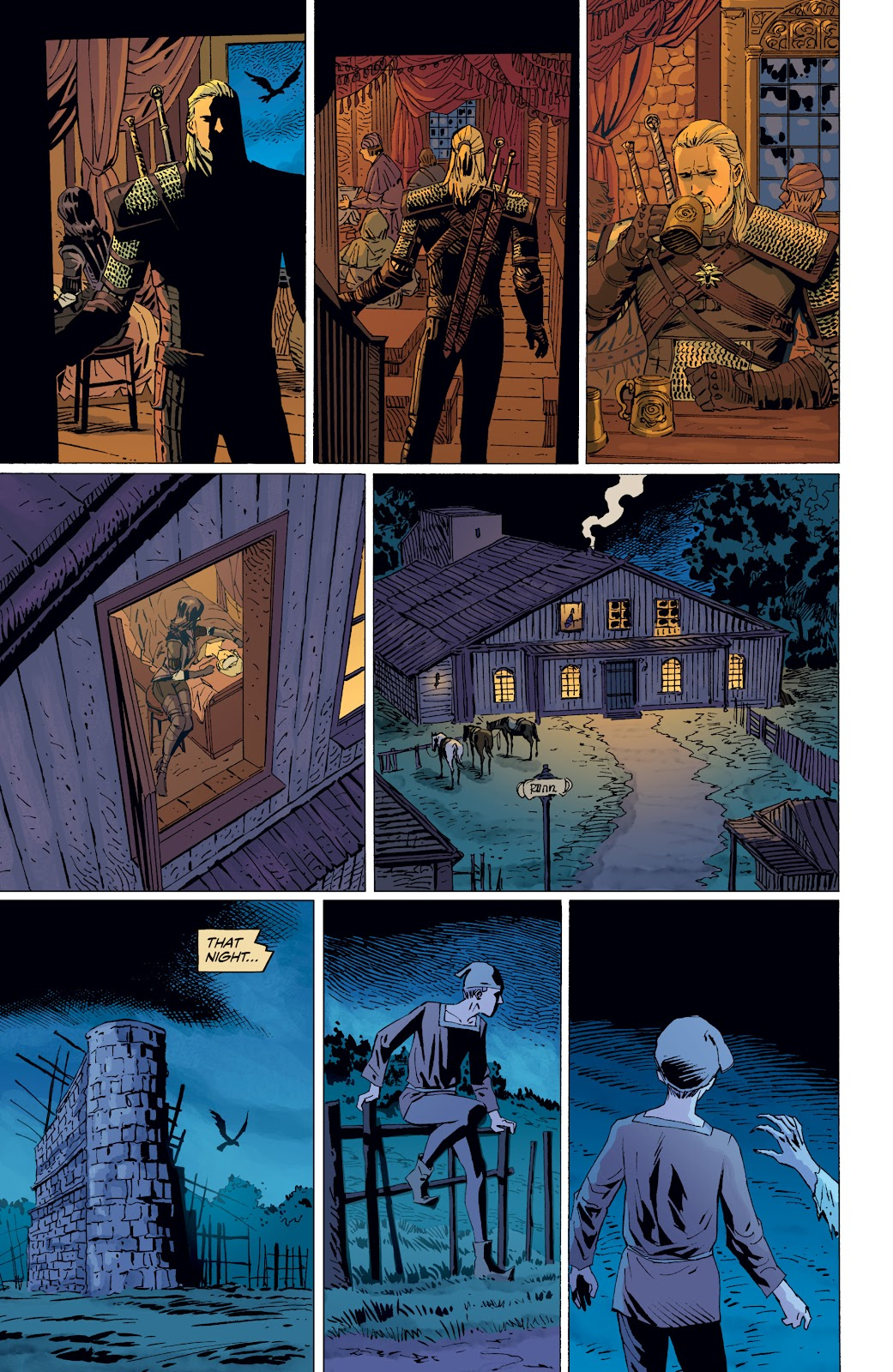 Read online The Witcher Omnibus comic -  Issue # TPB (Part 4) - 96